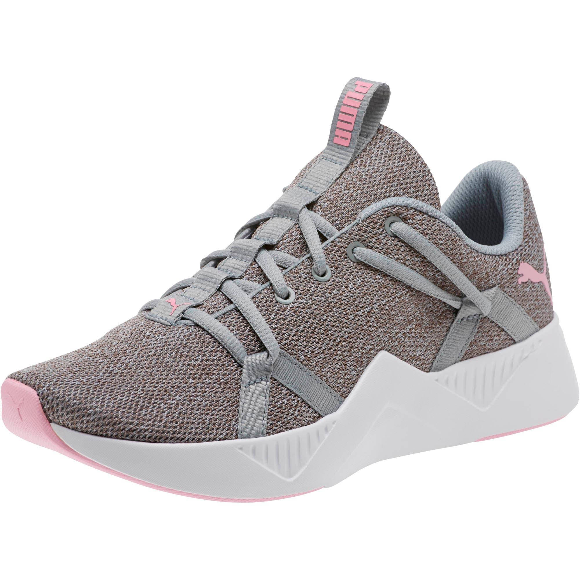 Thumbnail 1 of Incite Knit Women's Training Shoes, Quarry-Pale Pink, medium