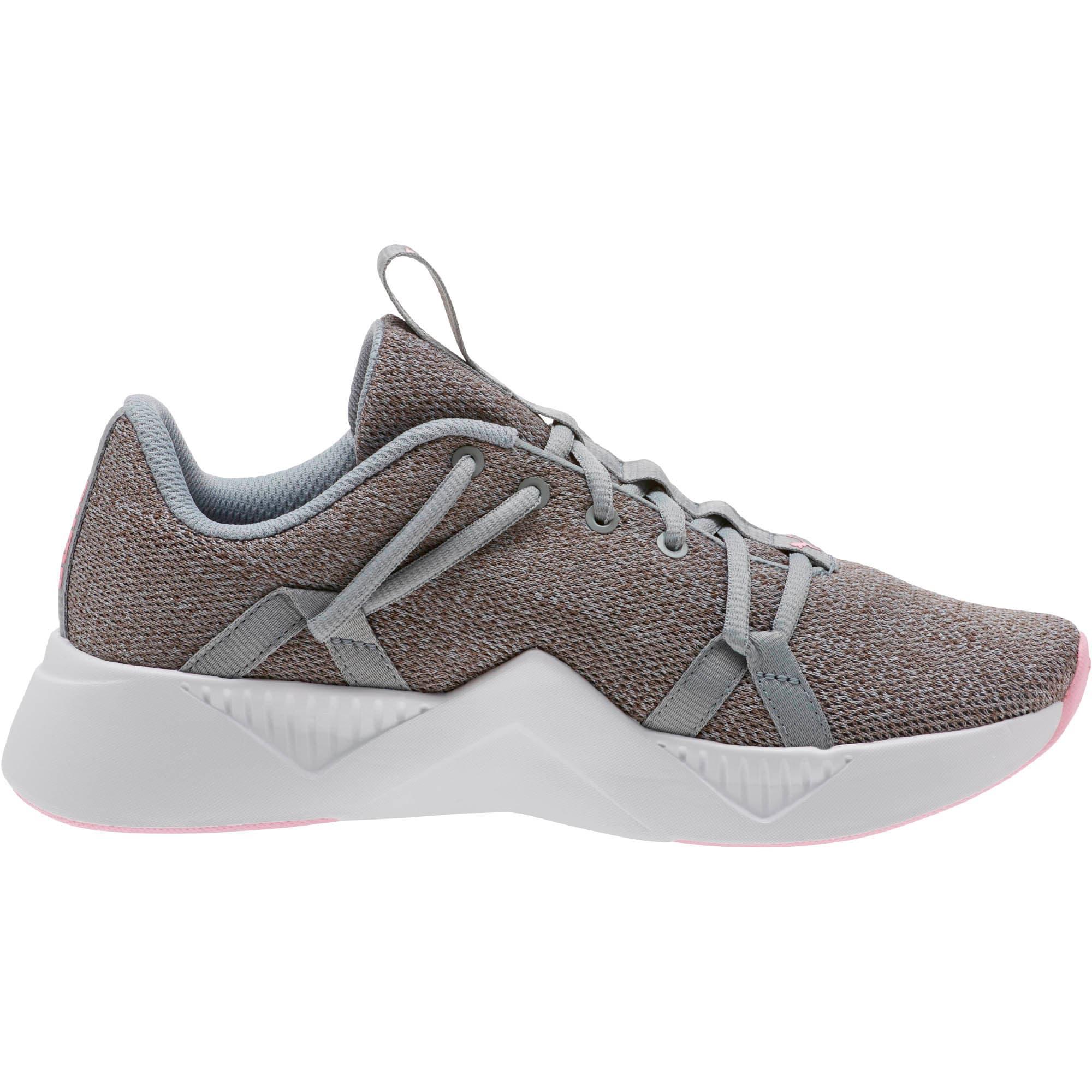 Thumbnail 3 of Incite Knit Women's Training Shoes, Quarry-Pale Pink, medium
