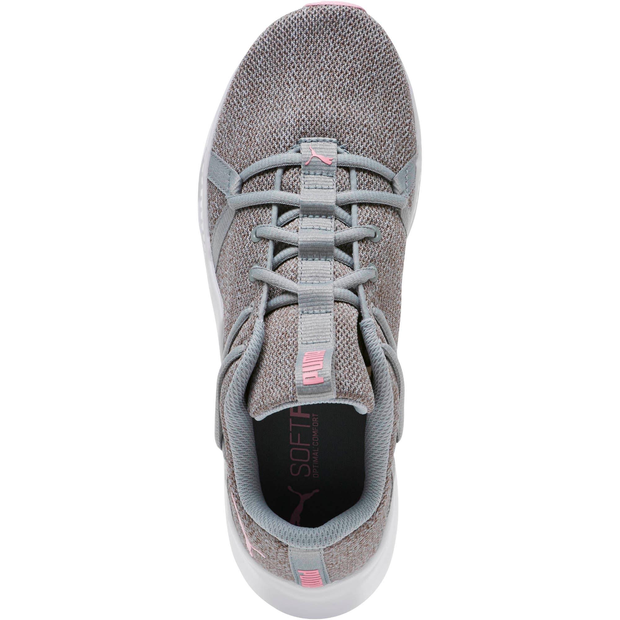 Thumbnail 5 of Incite Knit Women's Training Shoes, Quarry-Pale Pink, medium