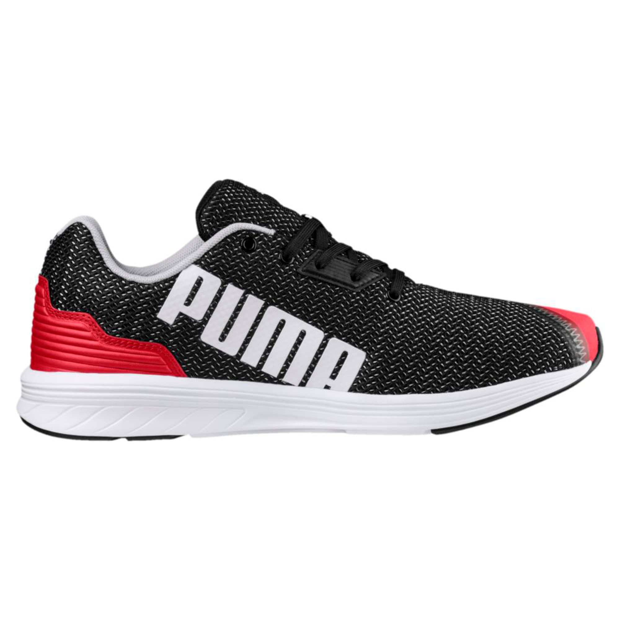 Thumbnail 4 of NRGY Resurge Puma Black-Puma White, Puma Blk-Ribbon Rd-Pma Wht, medium-IND