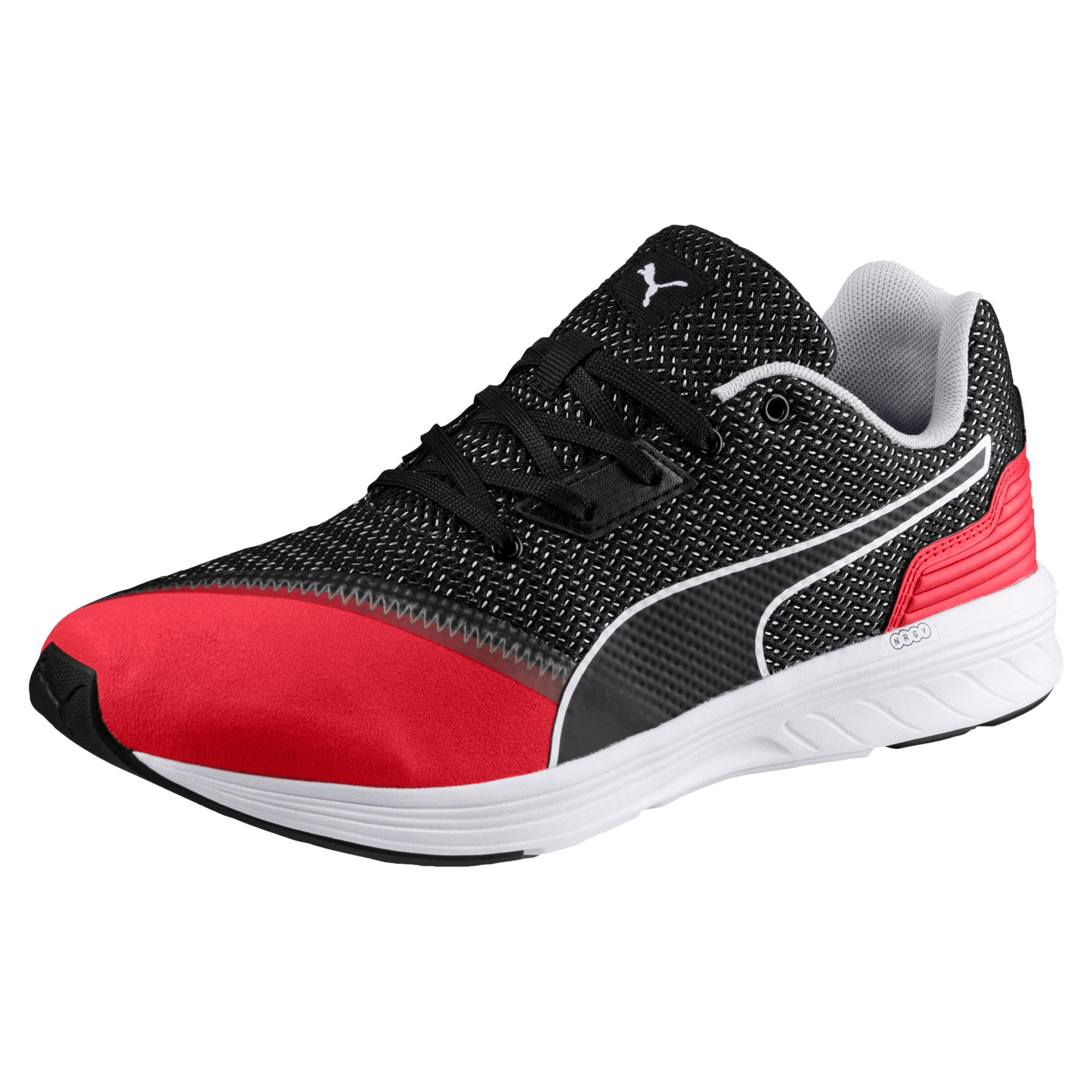 Thumbnail 1 of NRGY Resurge Puma Black-Puma White, Puma Blk-Ribbon Rd-Pma Wht, medium-IND