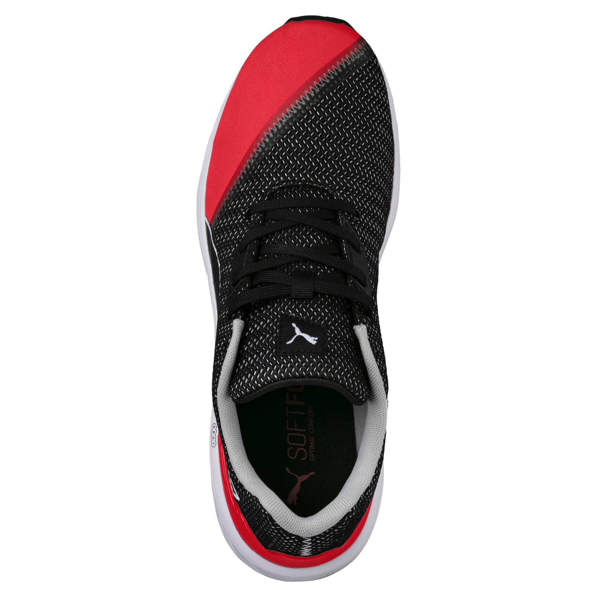 Thumbnail 5 of NRGY Resurge Puma Black-Puma White, Puma Blk-Ribbon Rd-Pma Wht, medium-IND
