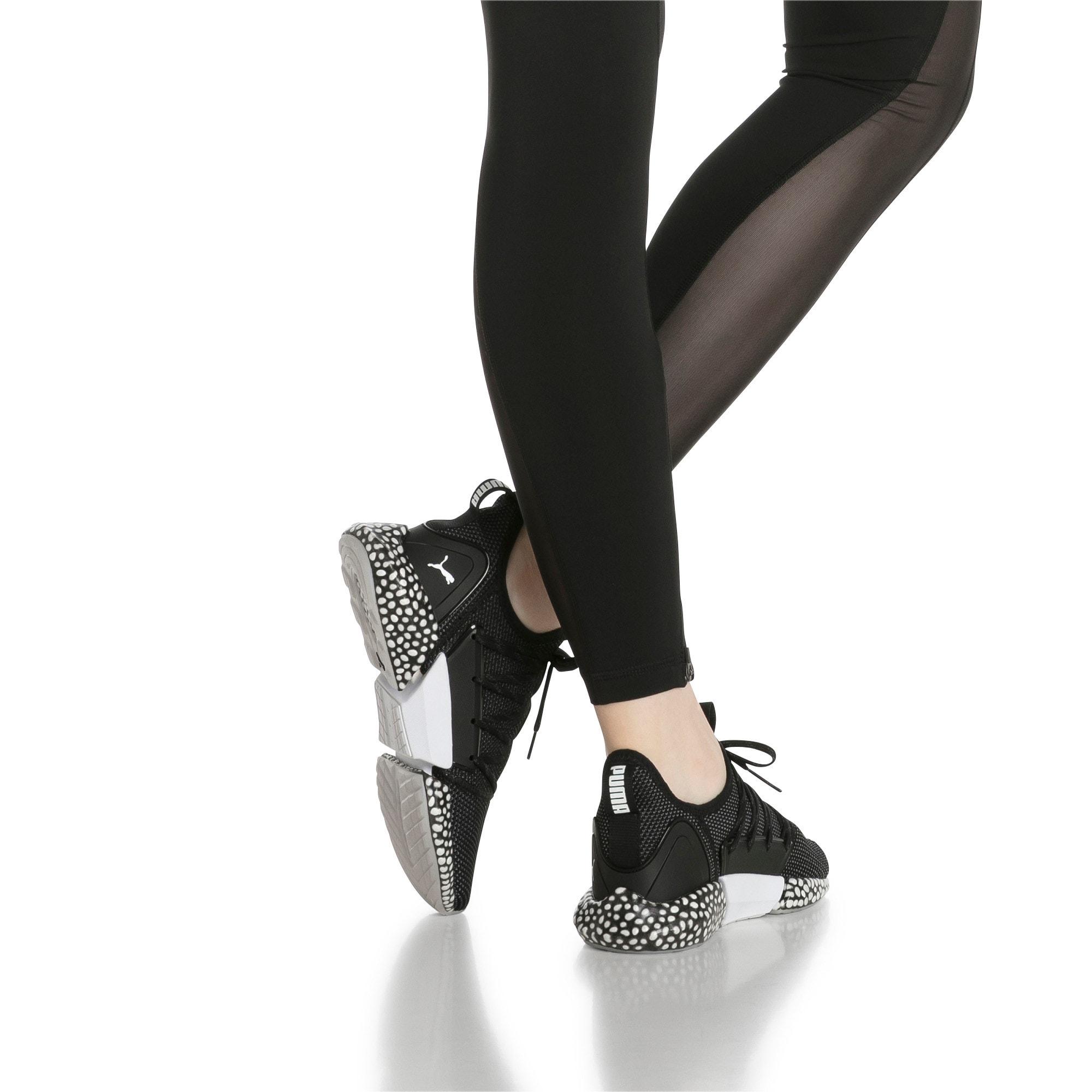 Thumbnail 7 of HYBRID Rocket Runner Women's Running Shoes, Black-Iron Gate-White, medium