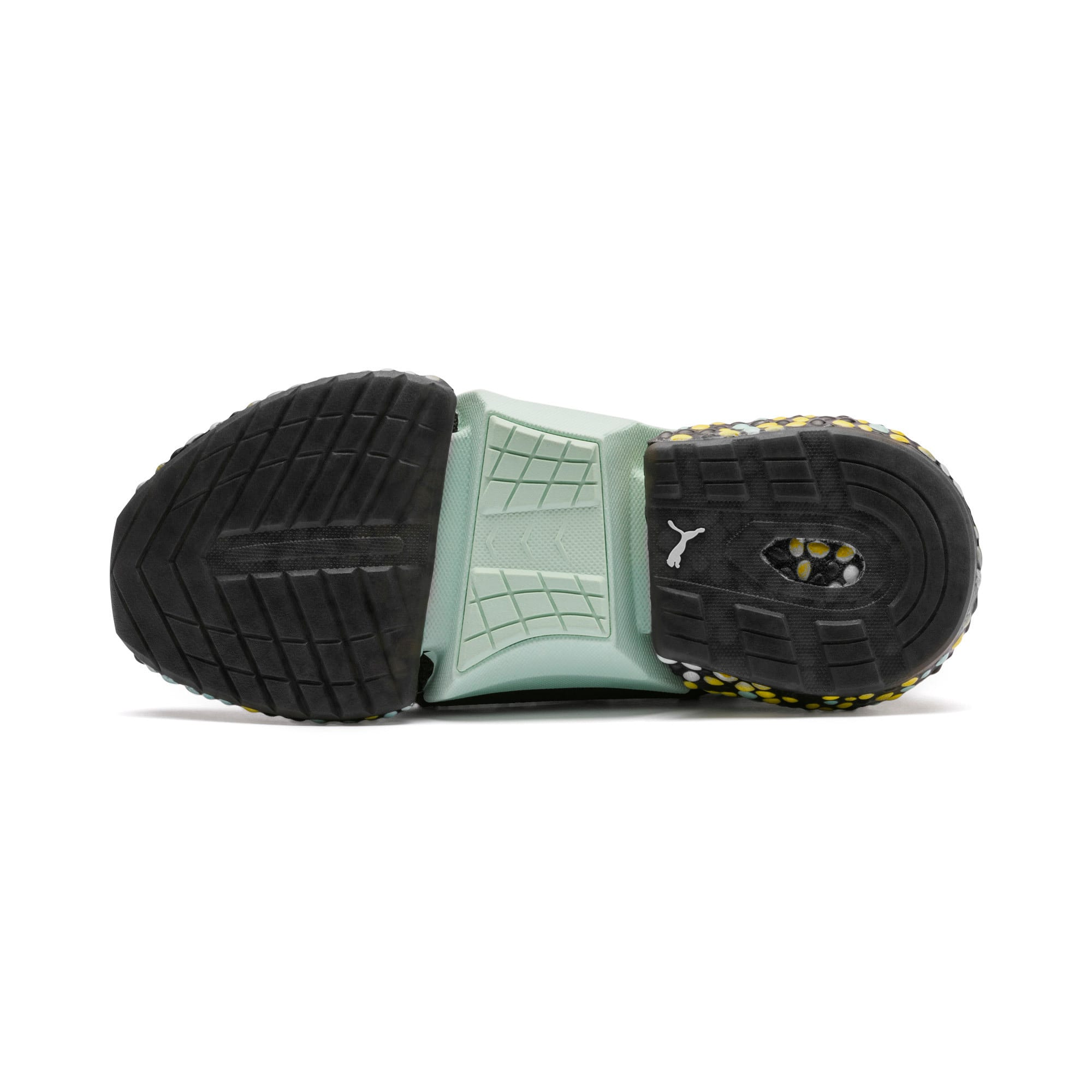 Thumbnail 5 of Hybrid Rocket Women's Running Shoes, Black-Fair Aqua-Yellow, medium