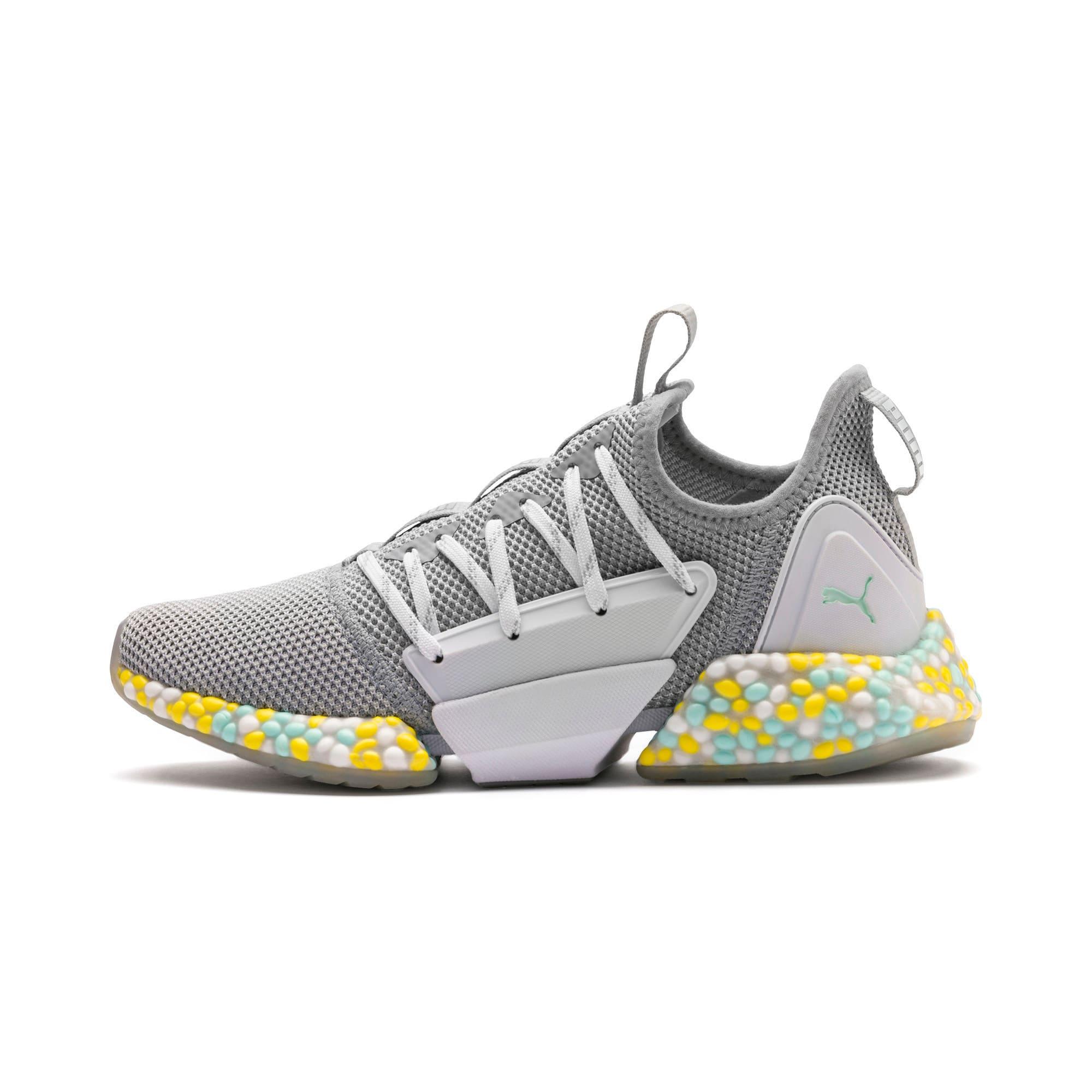 Thumbnail 1 of Hybrid Rocket Women's Running Shoes, Quarry-Puma White-Fair Aqua, medium-IND