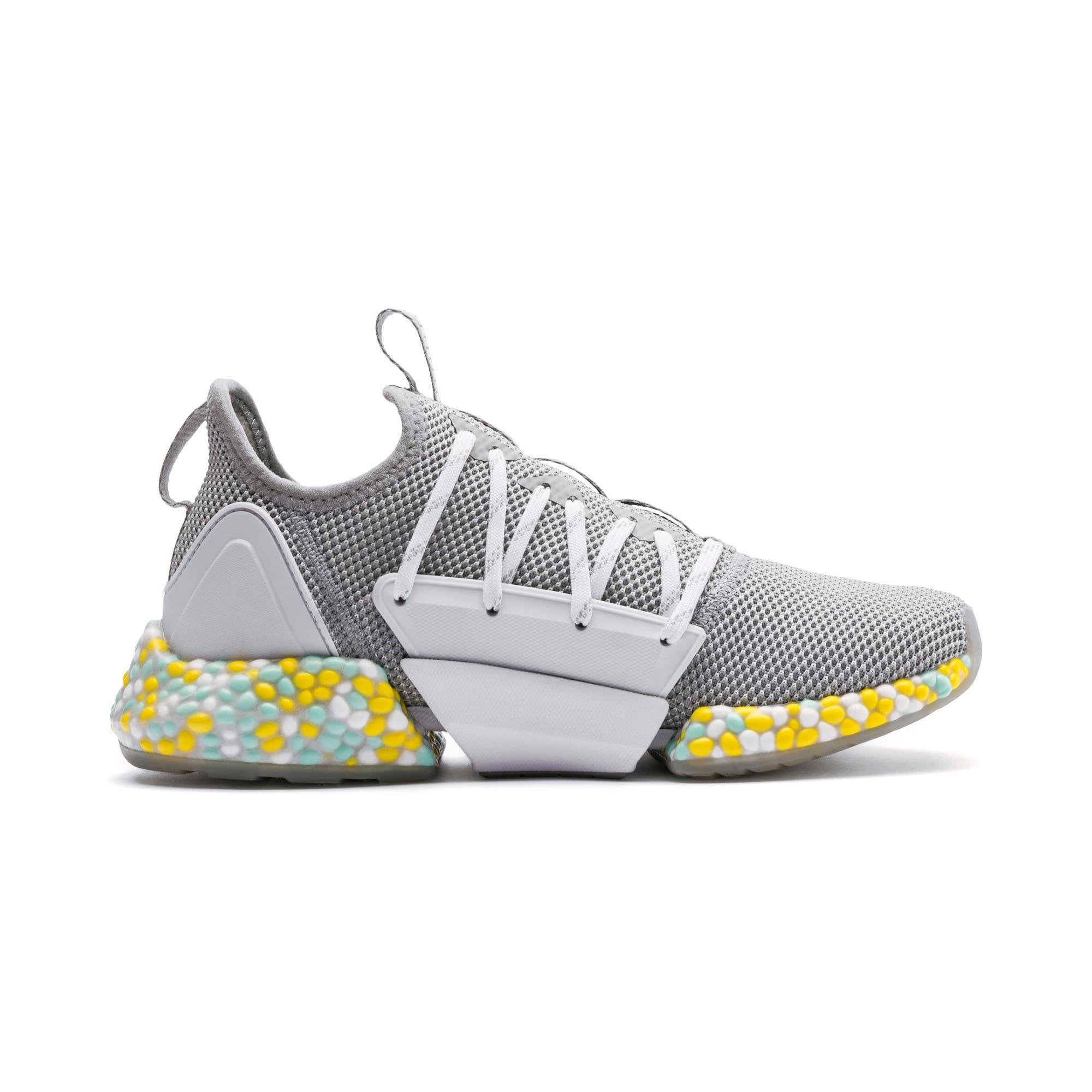 Thumbnail 5 of Hybrid Rocket Women's Running Shoes, Quarry-Puma White-Fair Aqua, medium-IND