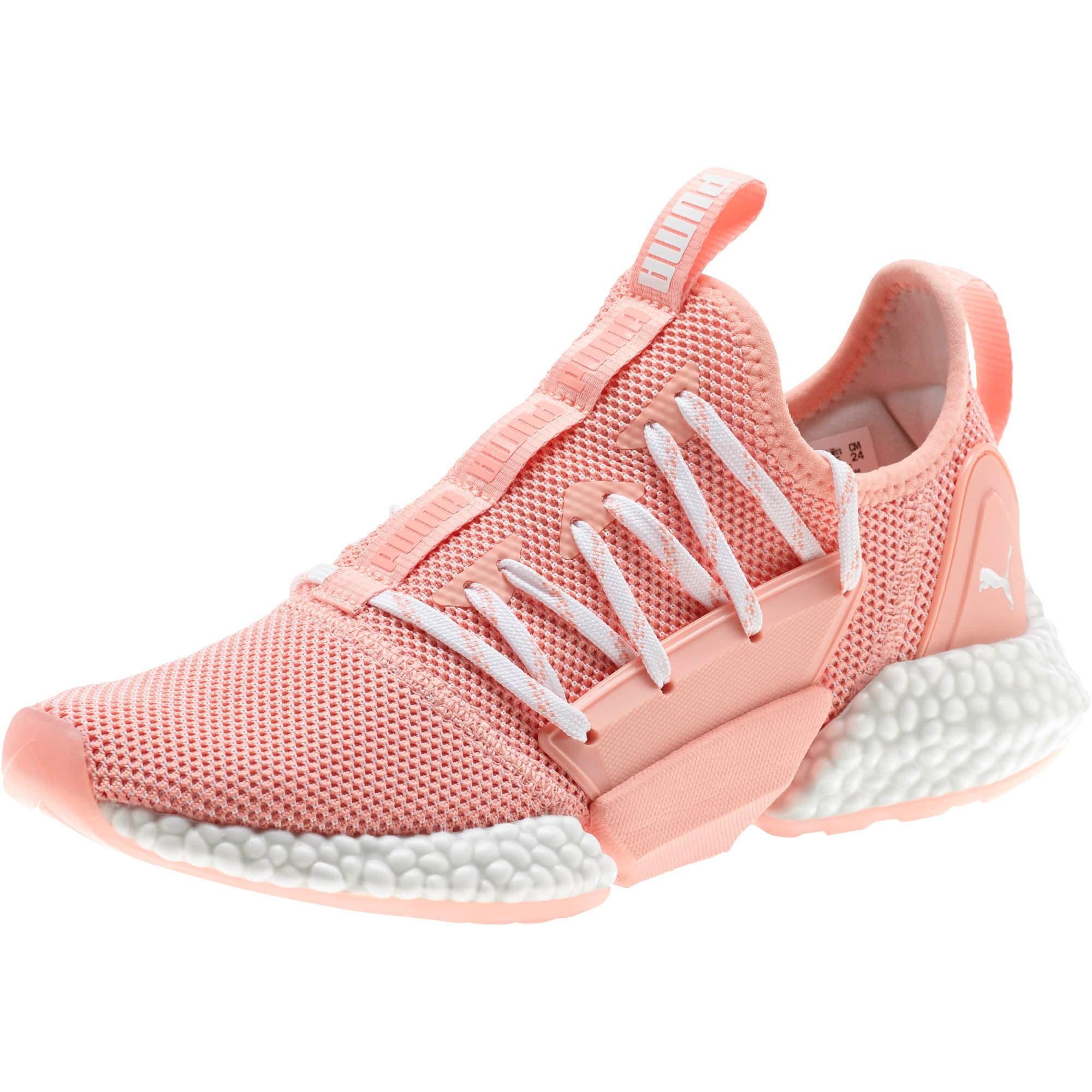 Thumbnail 1 of HYBRID Rocket Runner Women's Running Shoes, Peach Bud-Puma White, medium