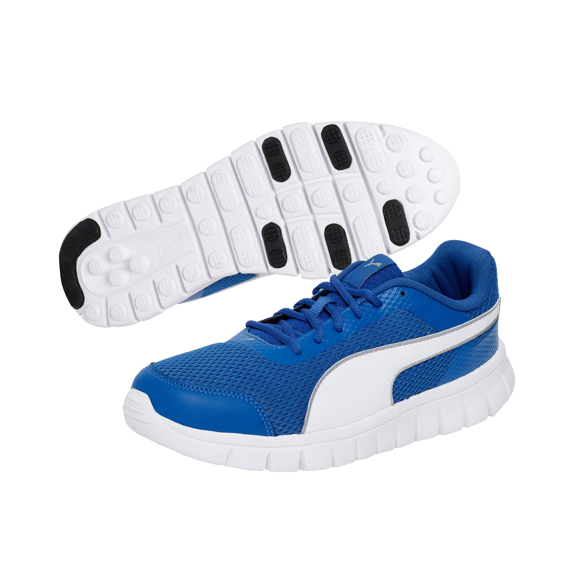 Thumbnail 2 of PUMA Blur V2 IDP Puma Black-Puma Silver, Lapis Blue-Puma White, medium-IND