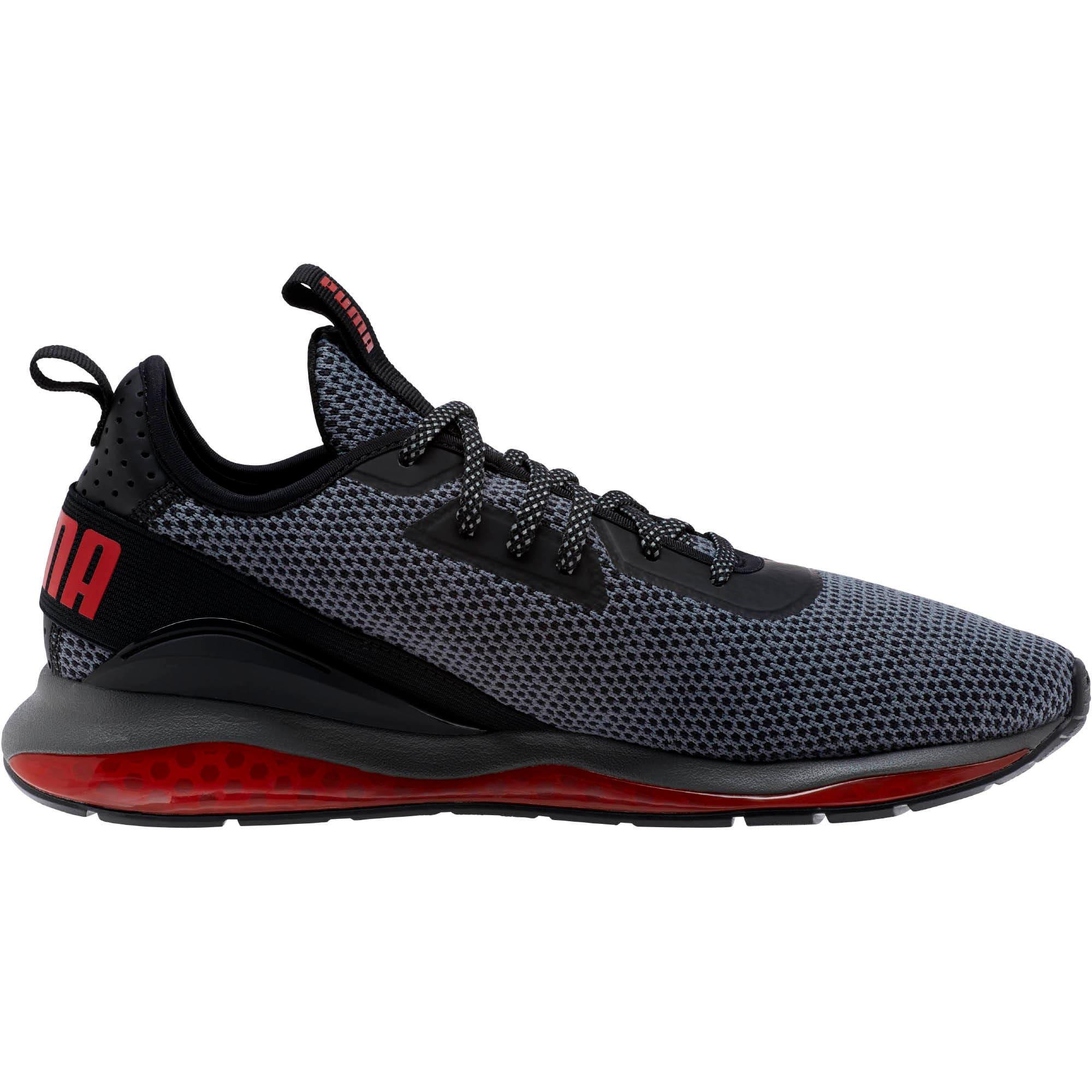 Thumbnail 3 of CELL Descend Running Shoes, Pma Blk-Rbn Rd-Pma Agd Slvr, medium