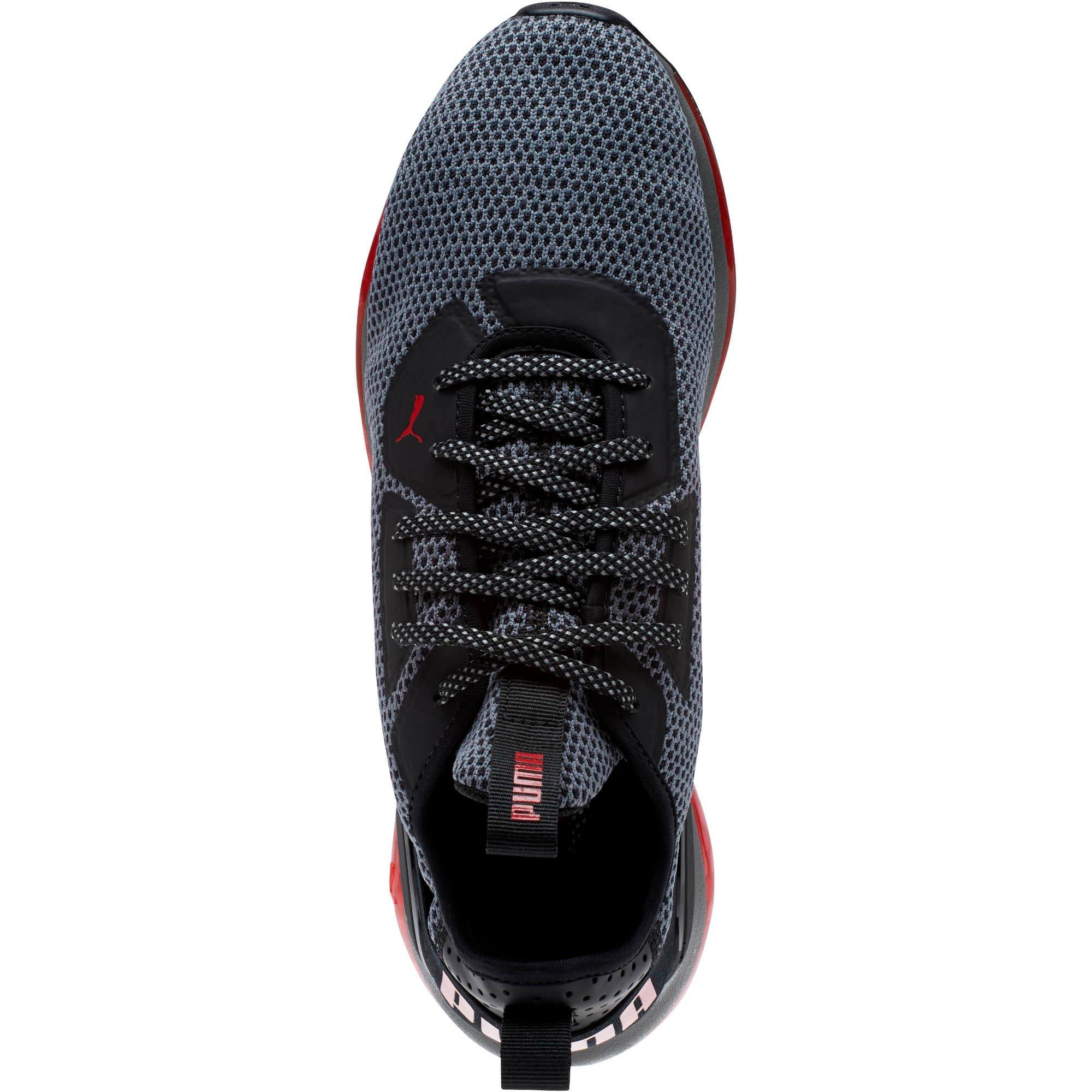 Thumbnail 5 of CELL Descend Running Shoes, Pma Blk-Rbn Rd-Pma Agd Slvr, medium