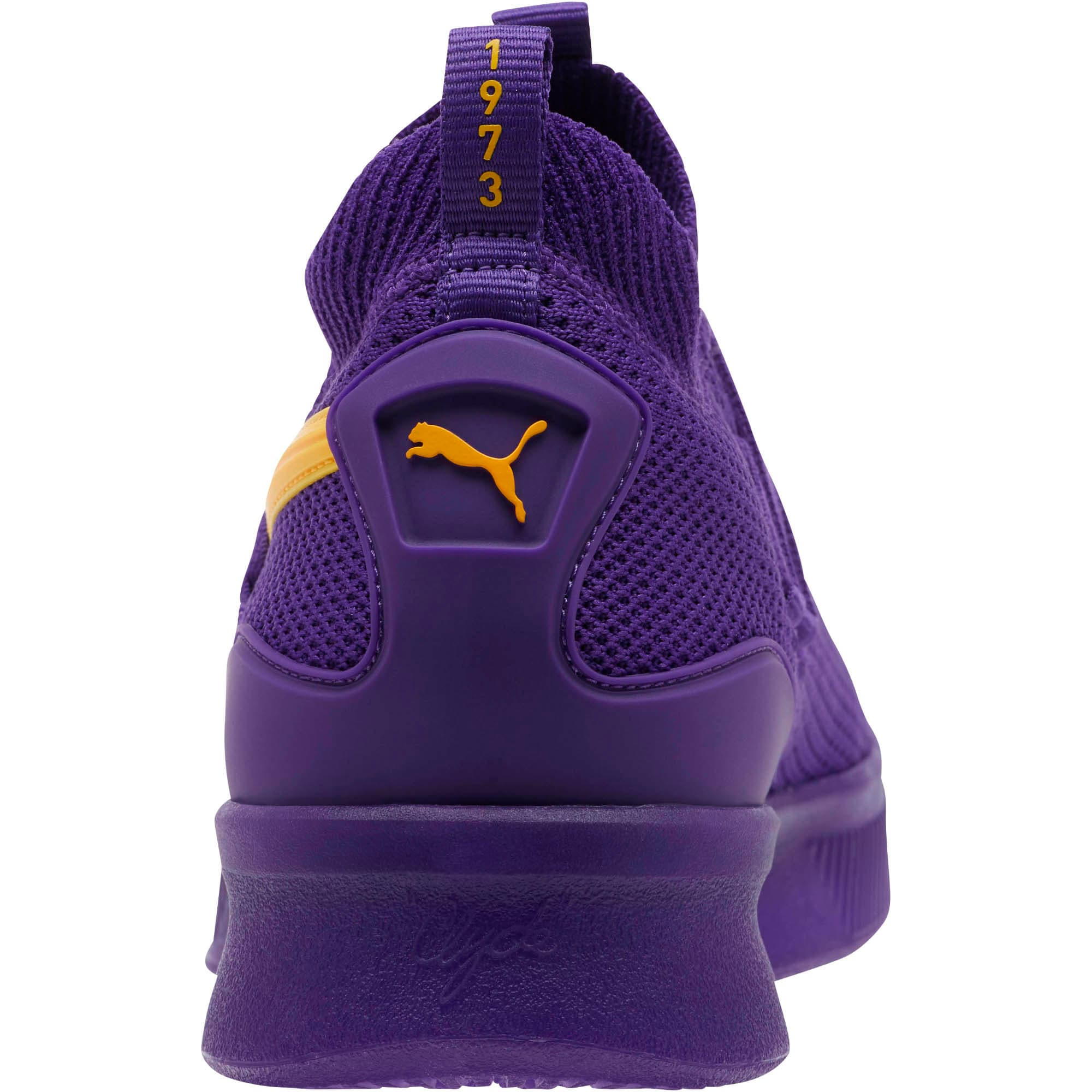 Thumbnail 3 of Clyde Court Core Basketball Shoes, Prism Violet, medium
