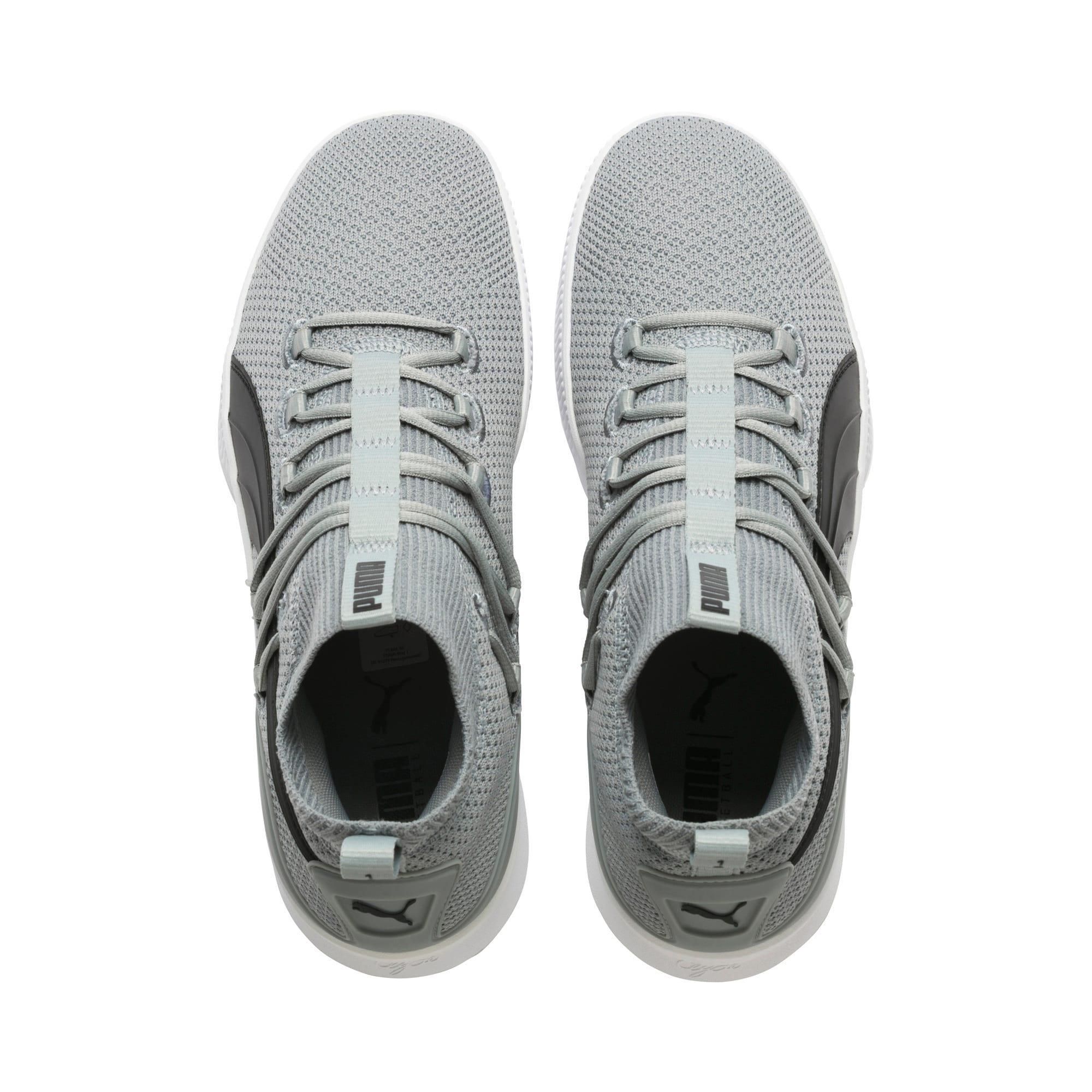 Thumbnail 6 of Clyde Court Core Basketball Shoes, Quarry-Puma Black, medium