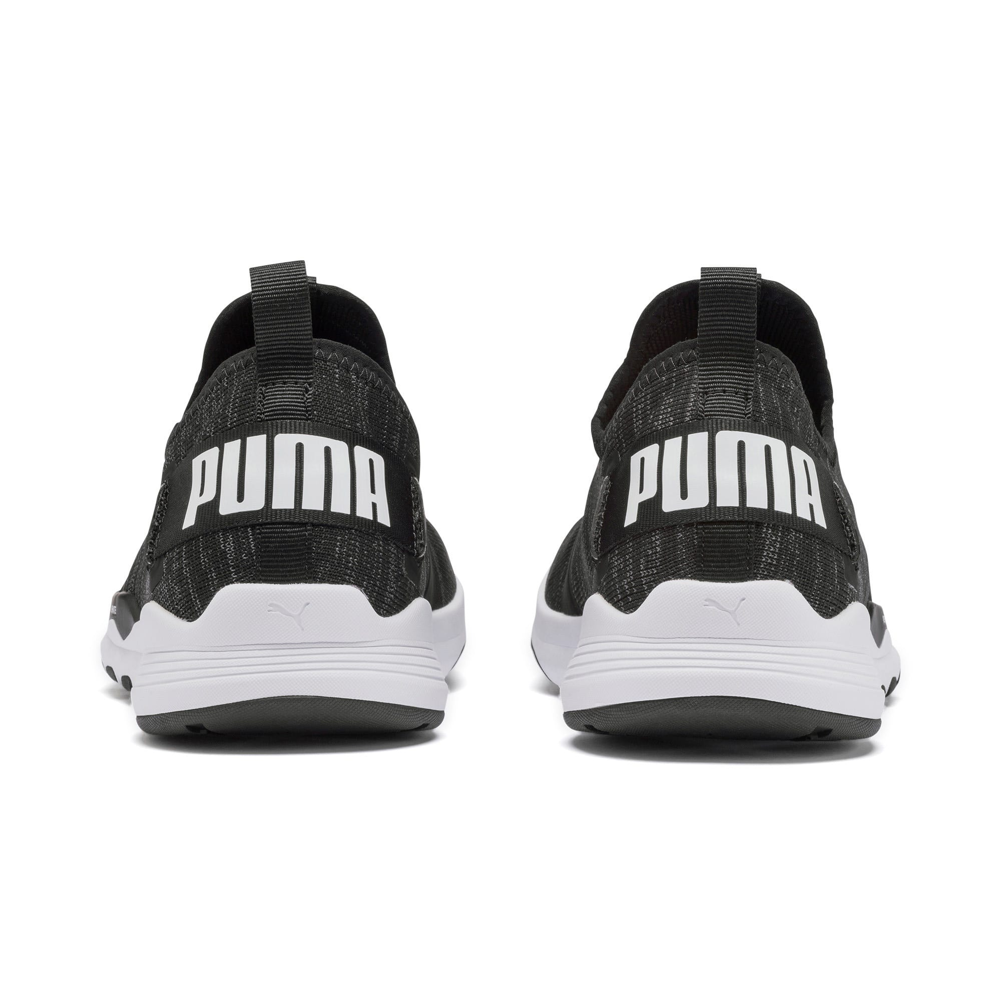 Thumbnail 5 of IGNITE Contender Knit Men's Running Shoes, Puma Black-Puma White, medium-IND