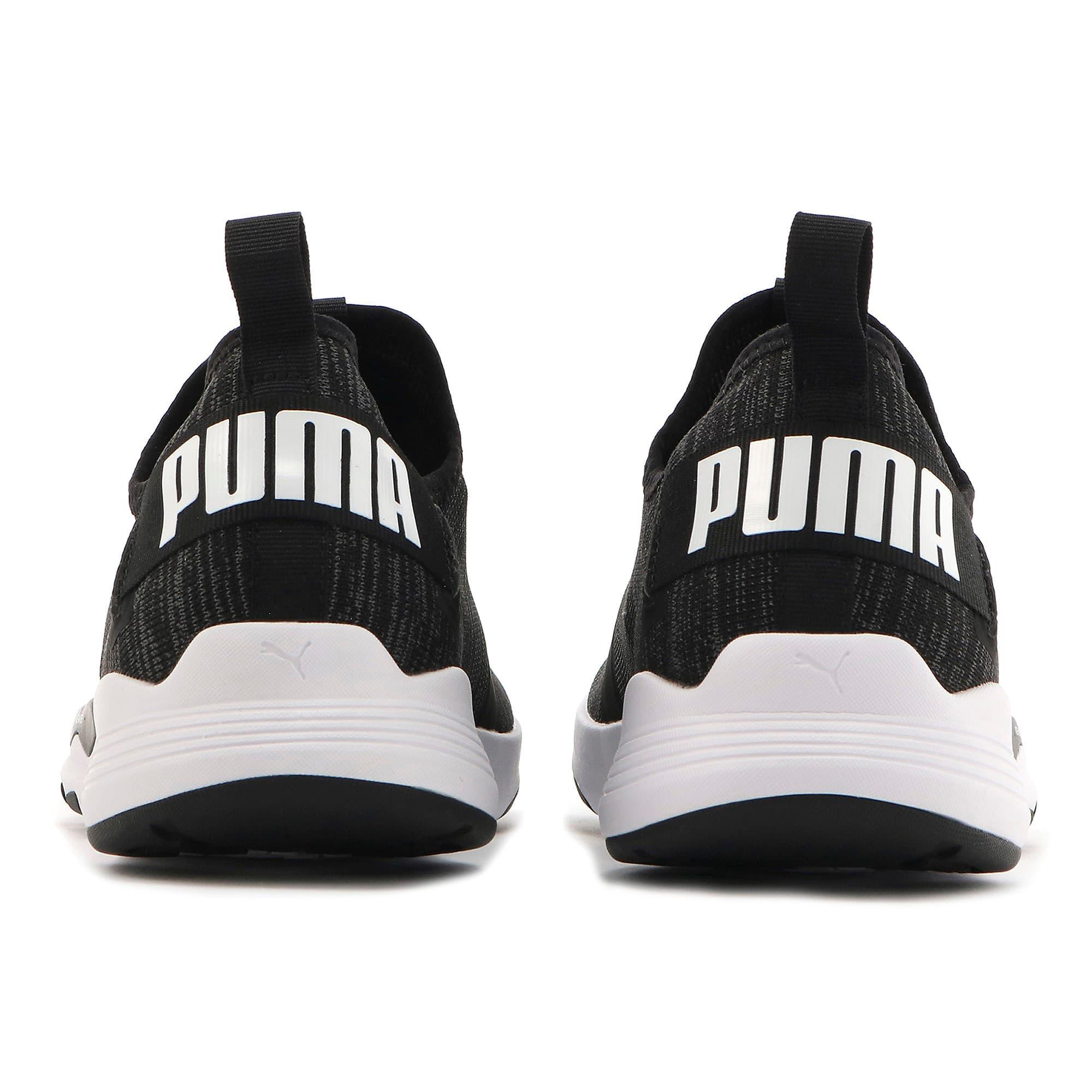 Thumbnail 4 of プーマ イグナイト コンテンダーニット, Puma Black-Puma White, medium-JPN