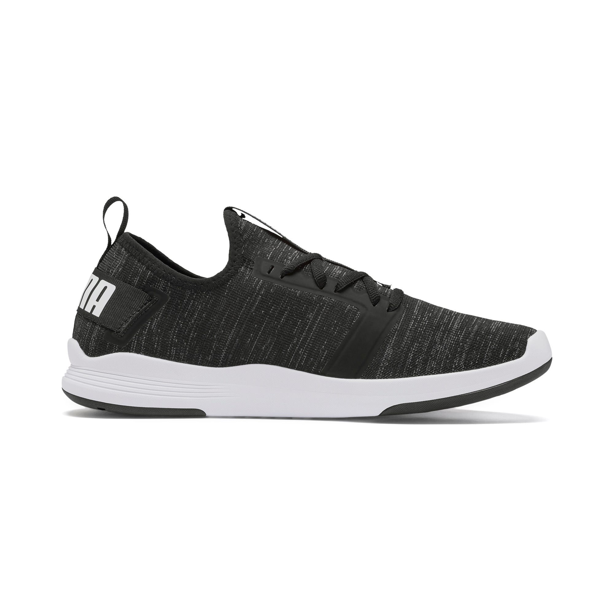 Thumbnail 7 of IGNITE Contender Knit Men's Running Shoes, Puma Black-Puma White, medium-IND
