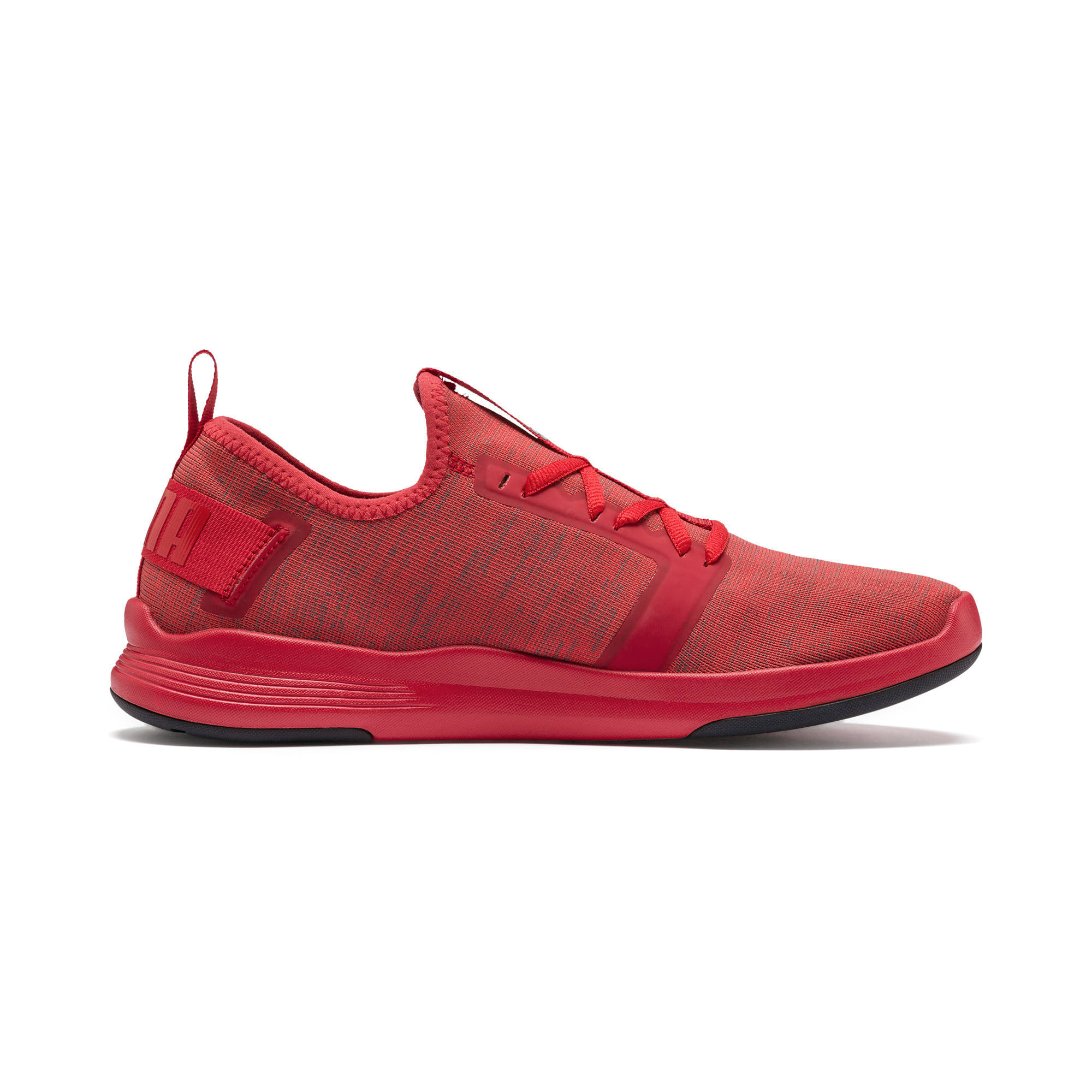 Thumbnail 7 of IGNITE Contender Knit Men's Running Shoes, Ribbon Red-Puma Black, medium-IND