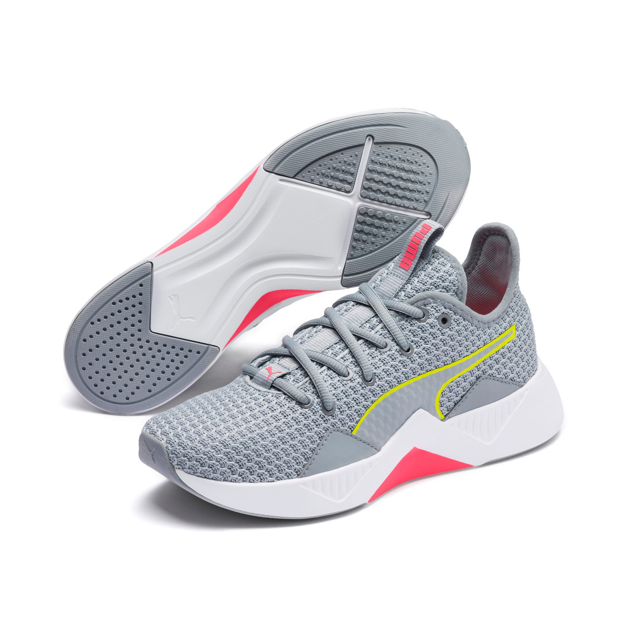 Thumbnail 8 of Incite FS Women's Trainers, Quarry-Yellow-Pink, medium-IND