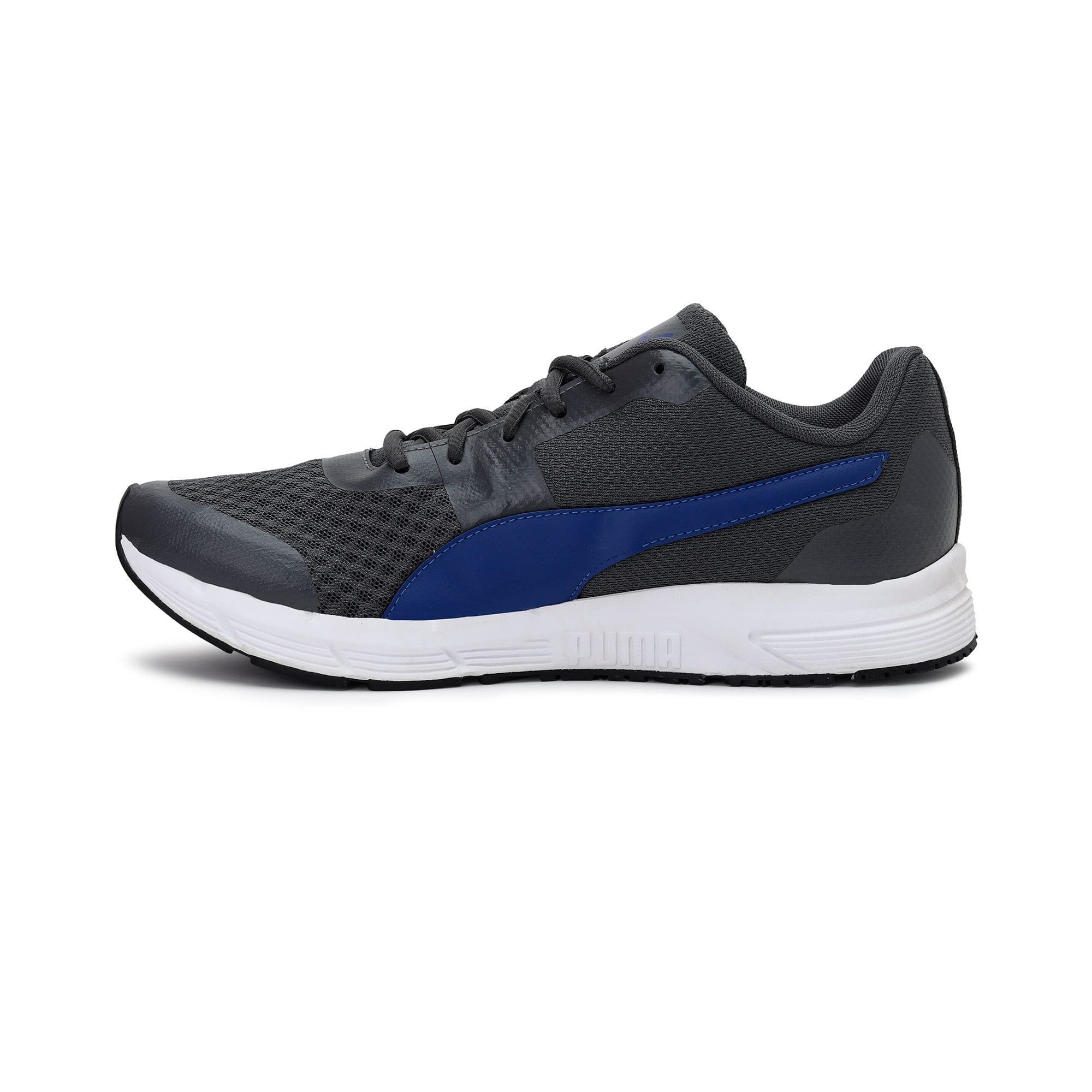 Thumbnail 1 of Progression IDP Puma White-Puma Black, PWhite-PBlk-In Gate-SiteBlue, medium-IND