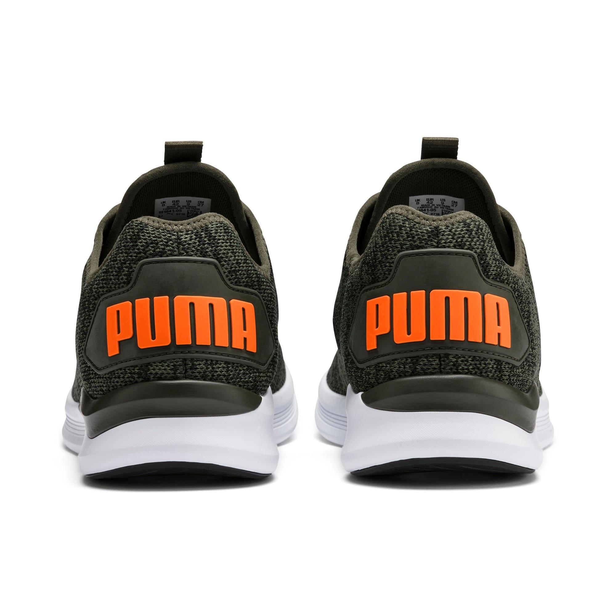 Thumbnail 5 of Ballast Men's Running Shoes, Forest Night-Black-Orange, medium-IND