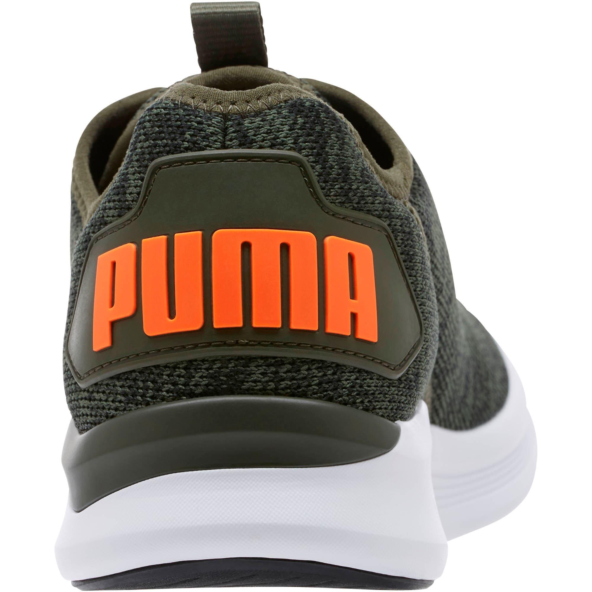 Thumbnail 4 of Ballast Men's Running Shoes, Forest Night-Black-Orange, medium