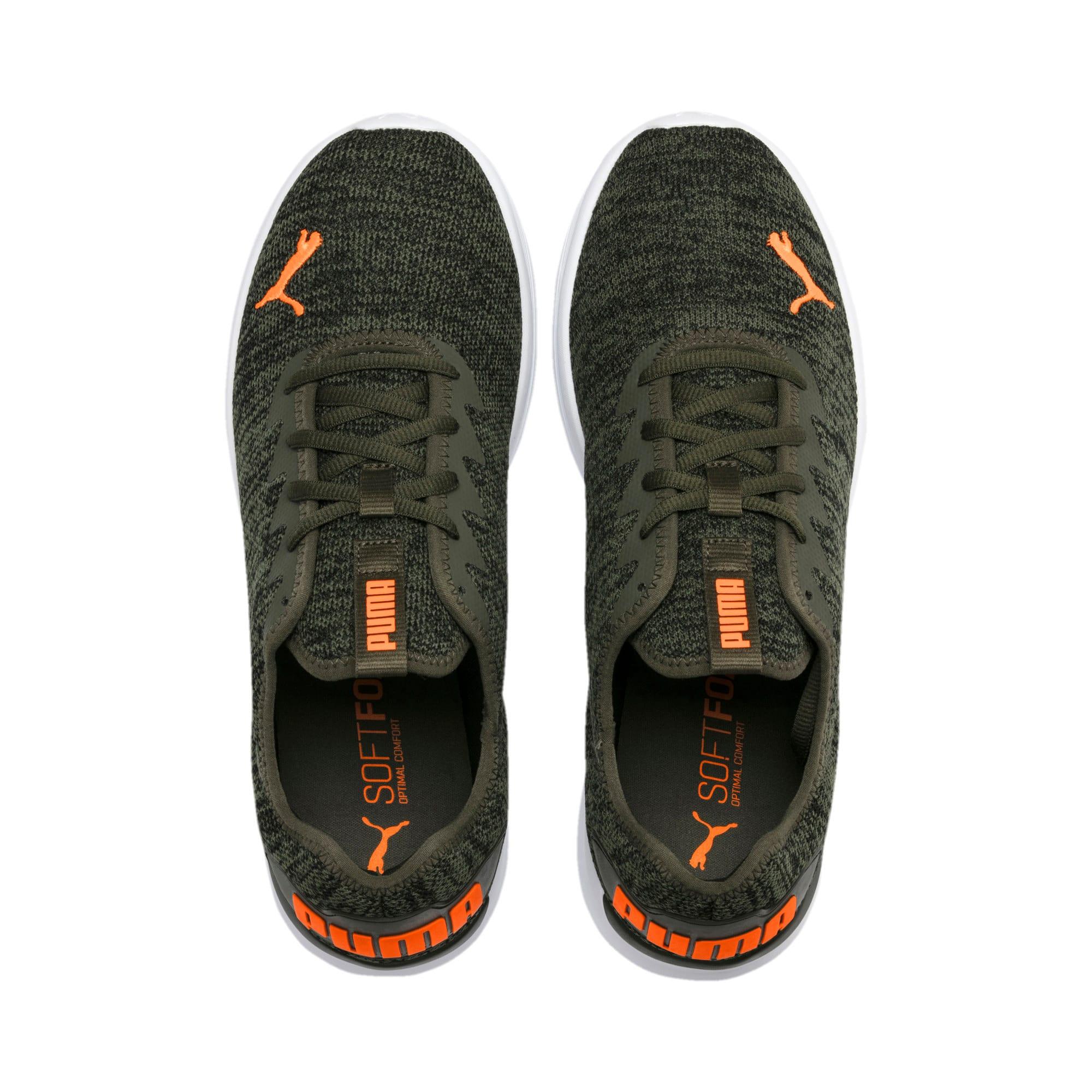 Thumbnail 2 of Ballast Men's Running Shoes, Forest Night-Black-Orange, medium-IND