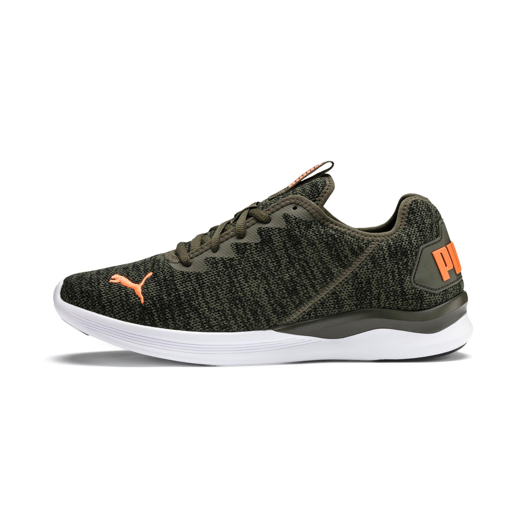 Thumbnail 1 of Ballast Men's Running Shoes, Forest Night-Black-Orange, medium-IND