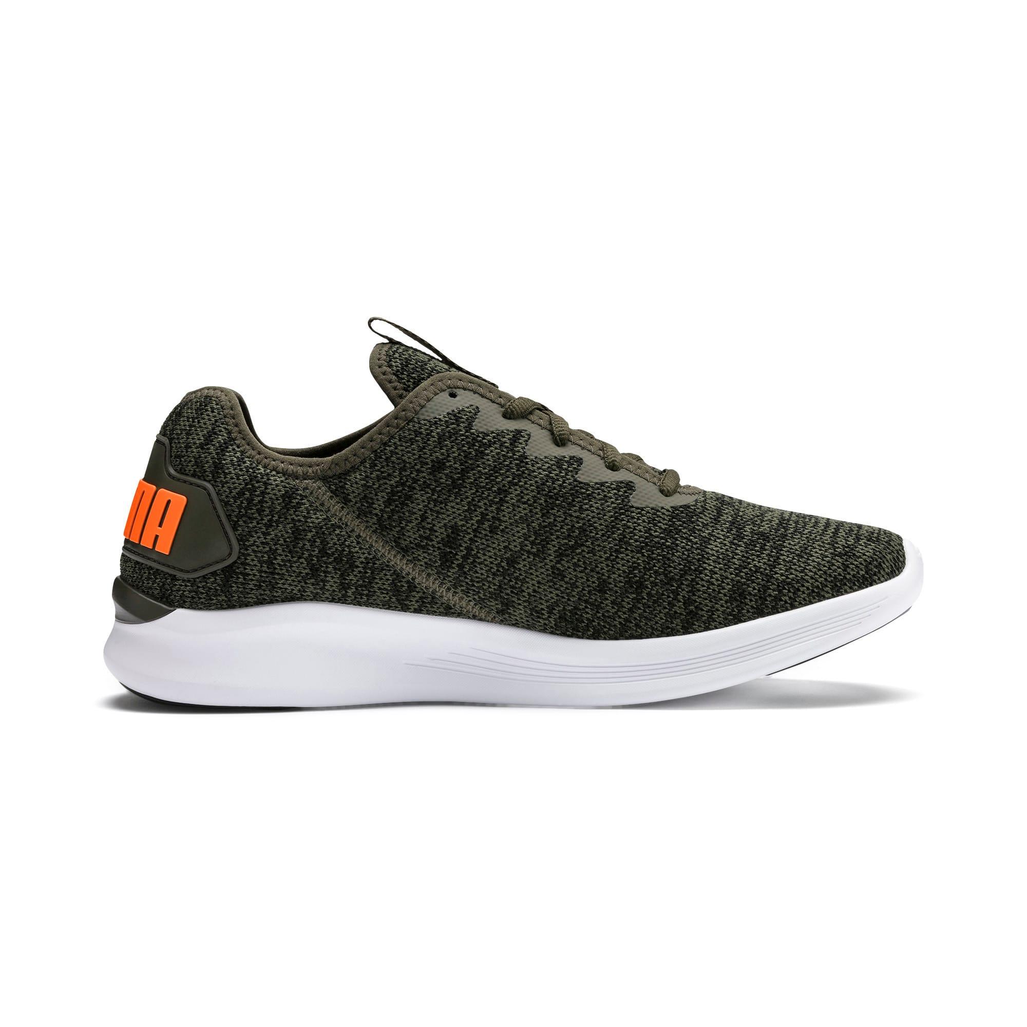 Thumbnail 7 of Ballast Men's Running Shoes, Forest Night-Black-Orange, medium-IND