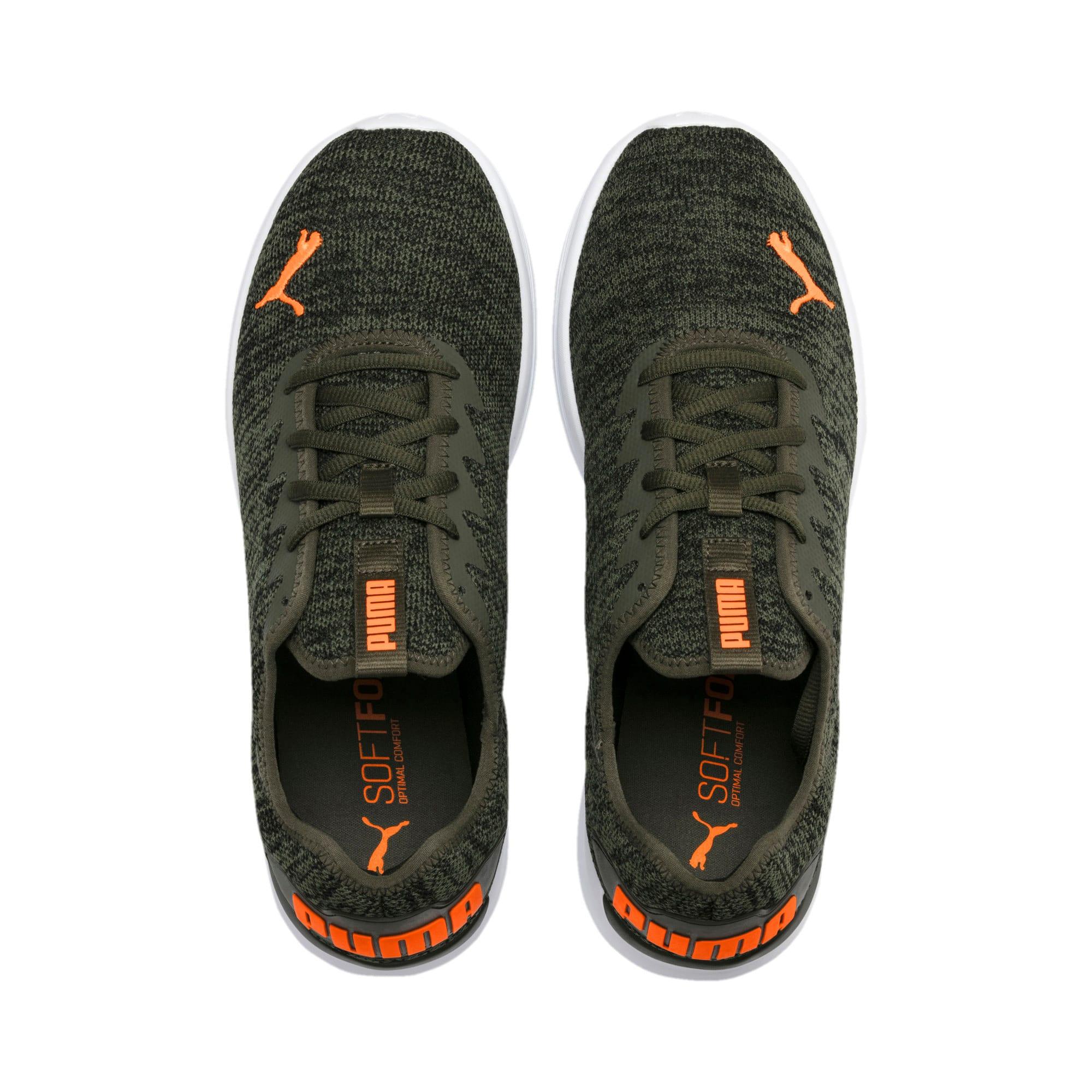 Thumbnail 8 of Ballast Men's Running Shoes, Forest Night-Black-Orange, medium-IND