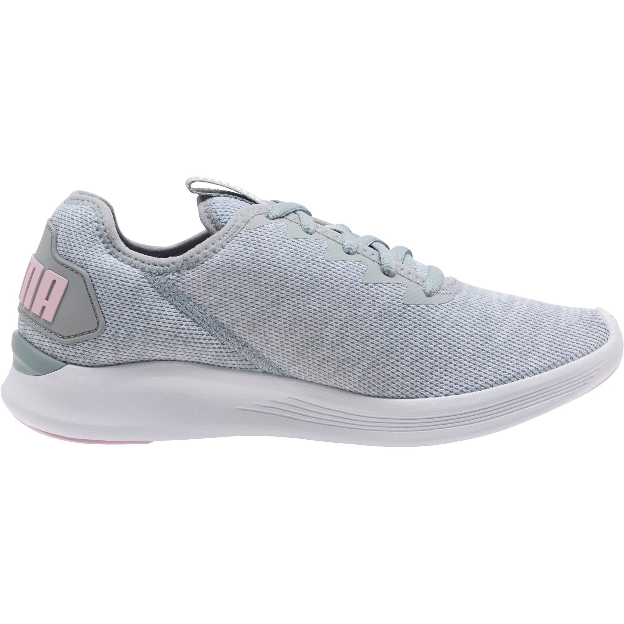 Thumbnail 4 of Ballast Women's Running Shoes, Quarry- Orchid- White, medium