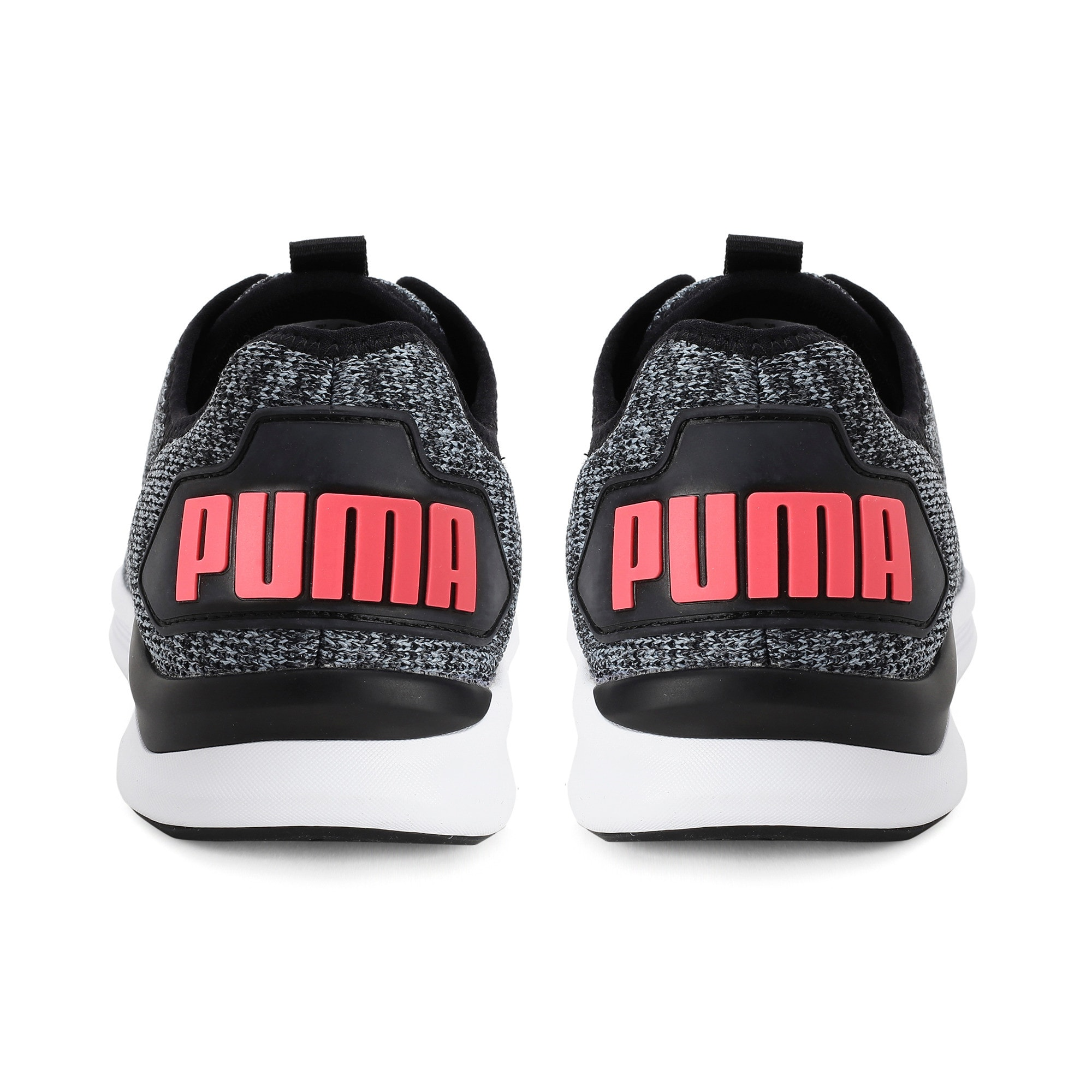 Ballast Women's Running Shoes, Puma Black-Pink Alert, large-IND