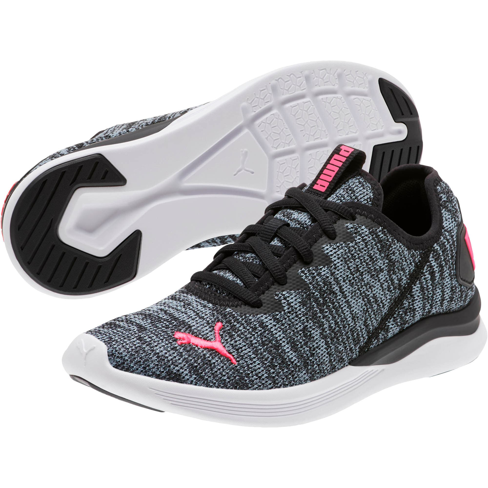 Thumbnail 2 of Ballast Women's Running Shoes, Puma Black-Pink Alert, medium