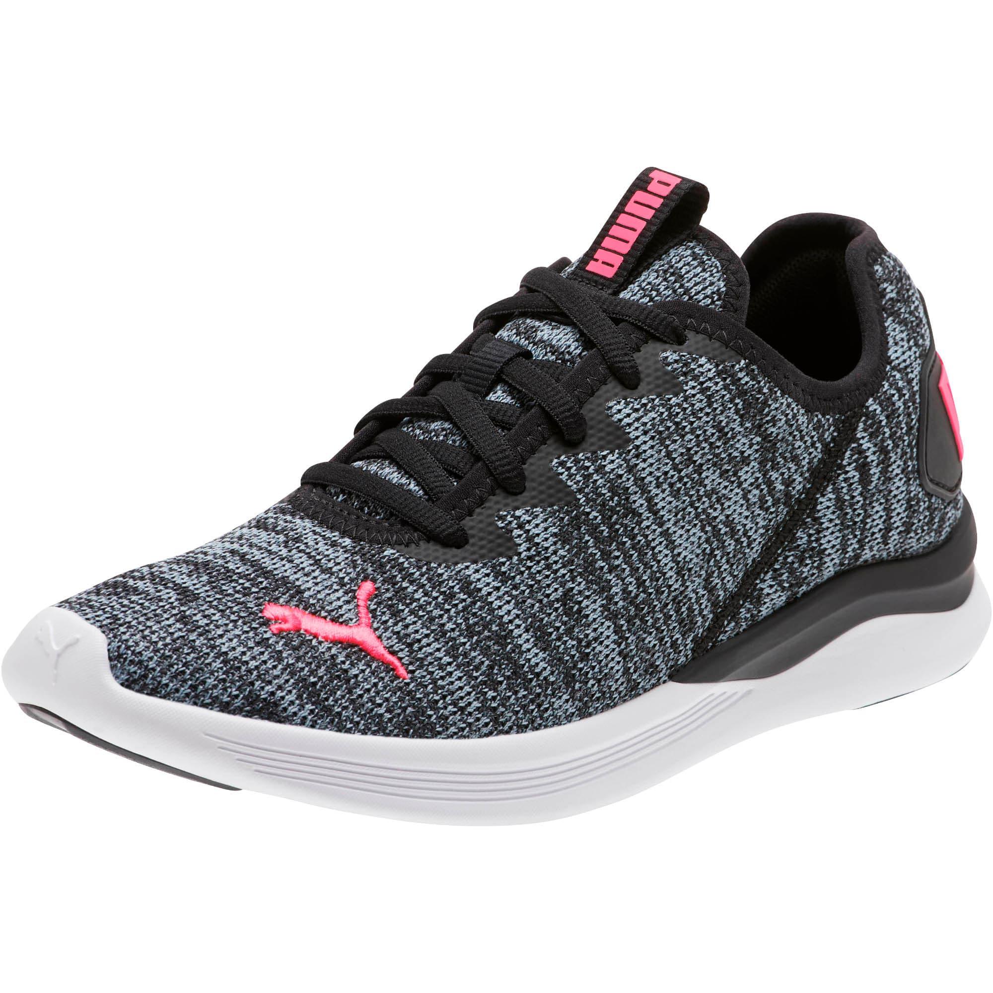 Thumbnail 1 of Ballast Women's Running Shoes, Puma Black-Pink Alert, medium
