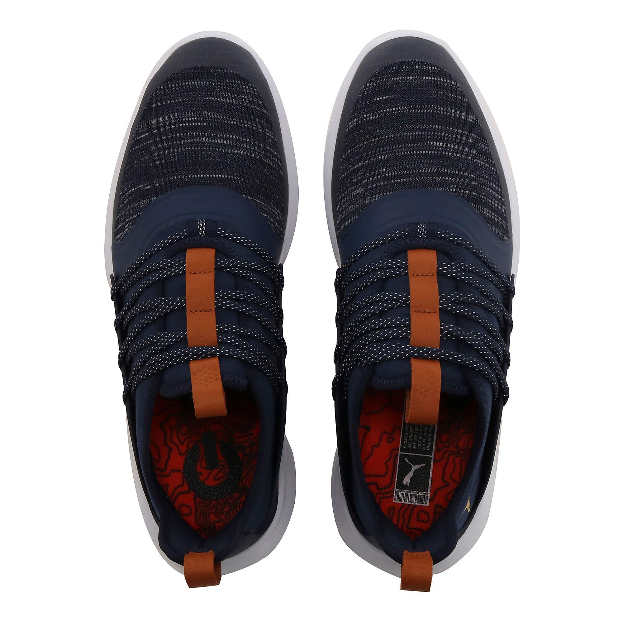 Thumbnail 6 of IGNITE NXT SOLELACE Men's Golf Shoes, Peacoat-Gold, medium