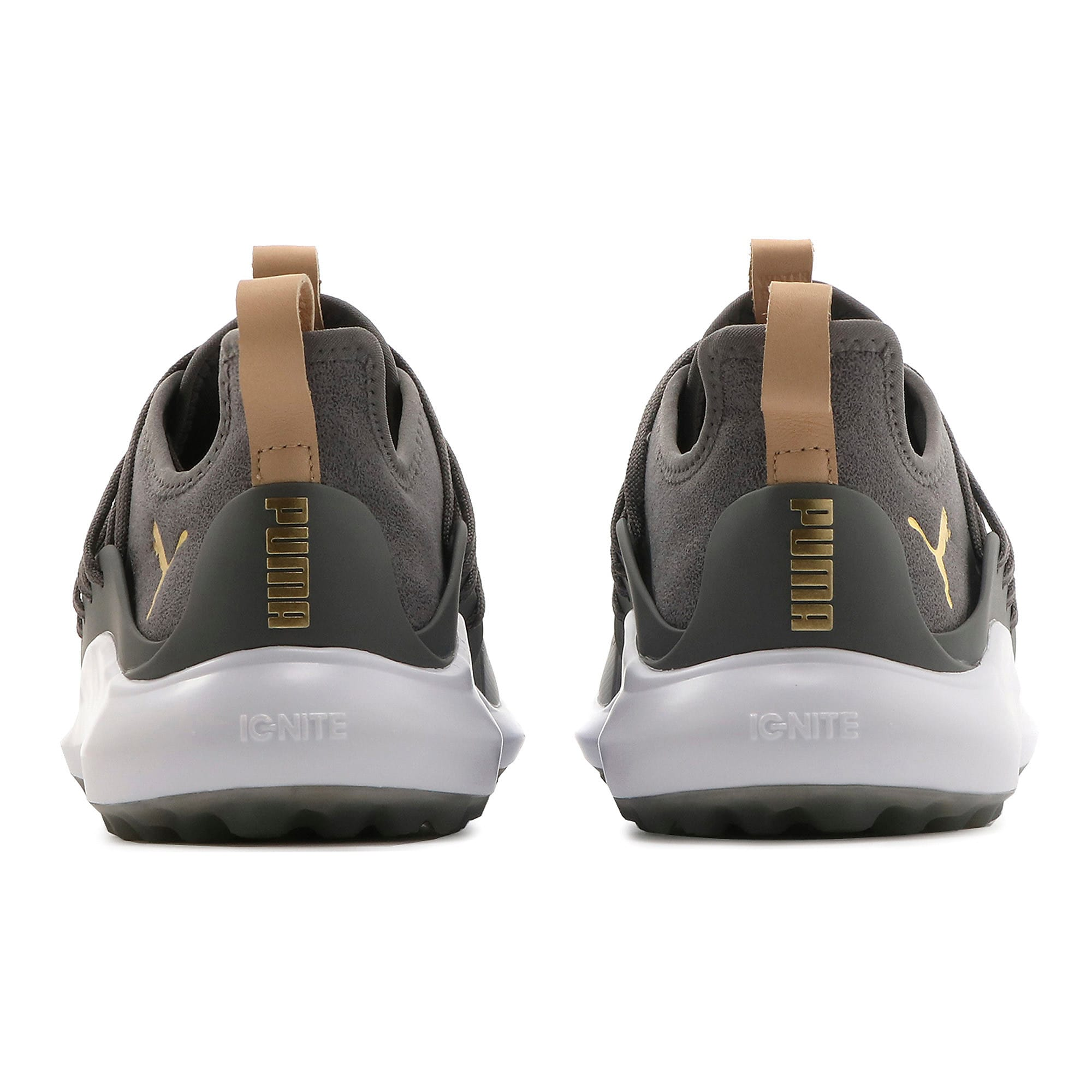 Thumbnail 3 of Chaussure de golf IGNITE NXT SOLELACE pour homme, Gray Violet-Gold-QUIET SHADE, medium
