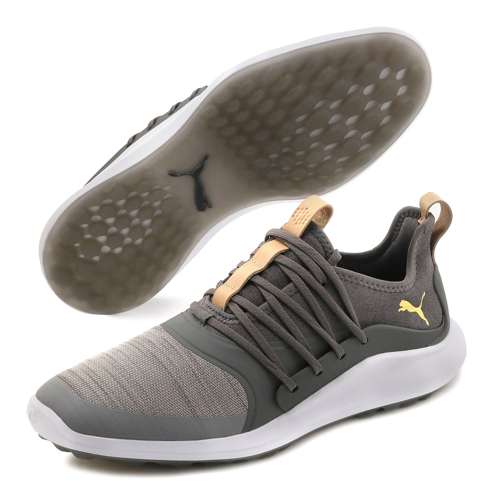 Thumbnail 2 of Chaussure de golf IGNITE NXT SOLELACE pour homme, Gray Violet-Gold-QUIET SHADE, medium