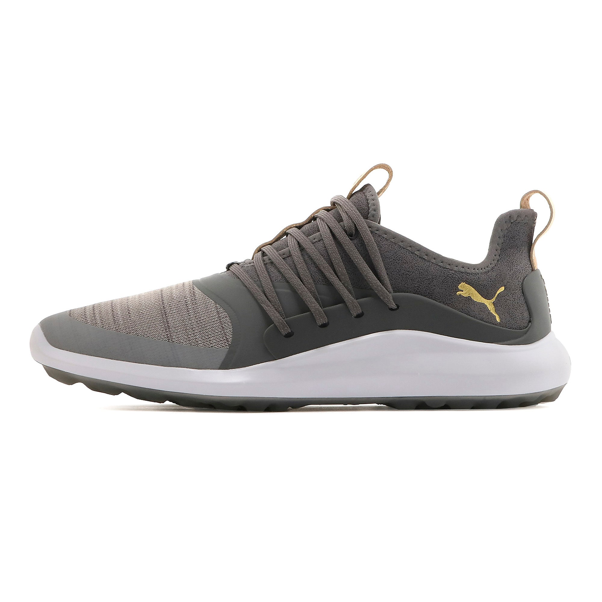 Thumbnail 1 of Chaussure de golf IGNITE NXT SOLELACE pour homme, Gray Violet-Gold-QUIET SHADE, medium