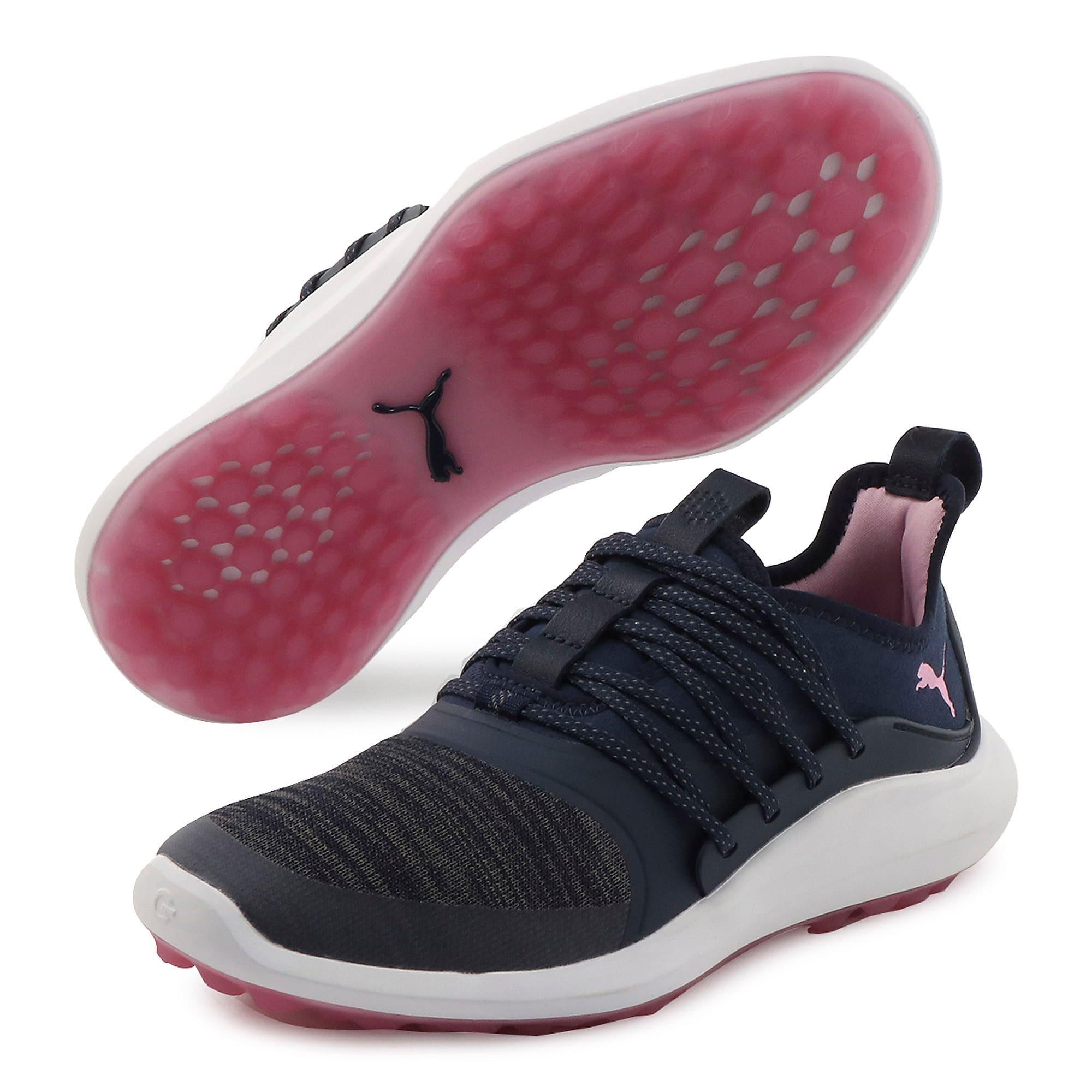 Thumbnail 2 of IGNITE NXT SOLELACE Damen Golf-Sneaker, Peacoat-Metallic Pink, medium