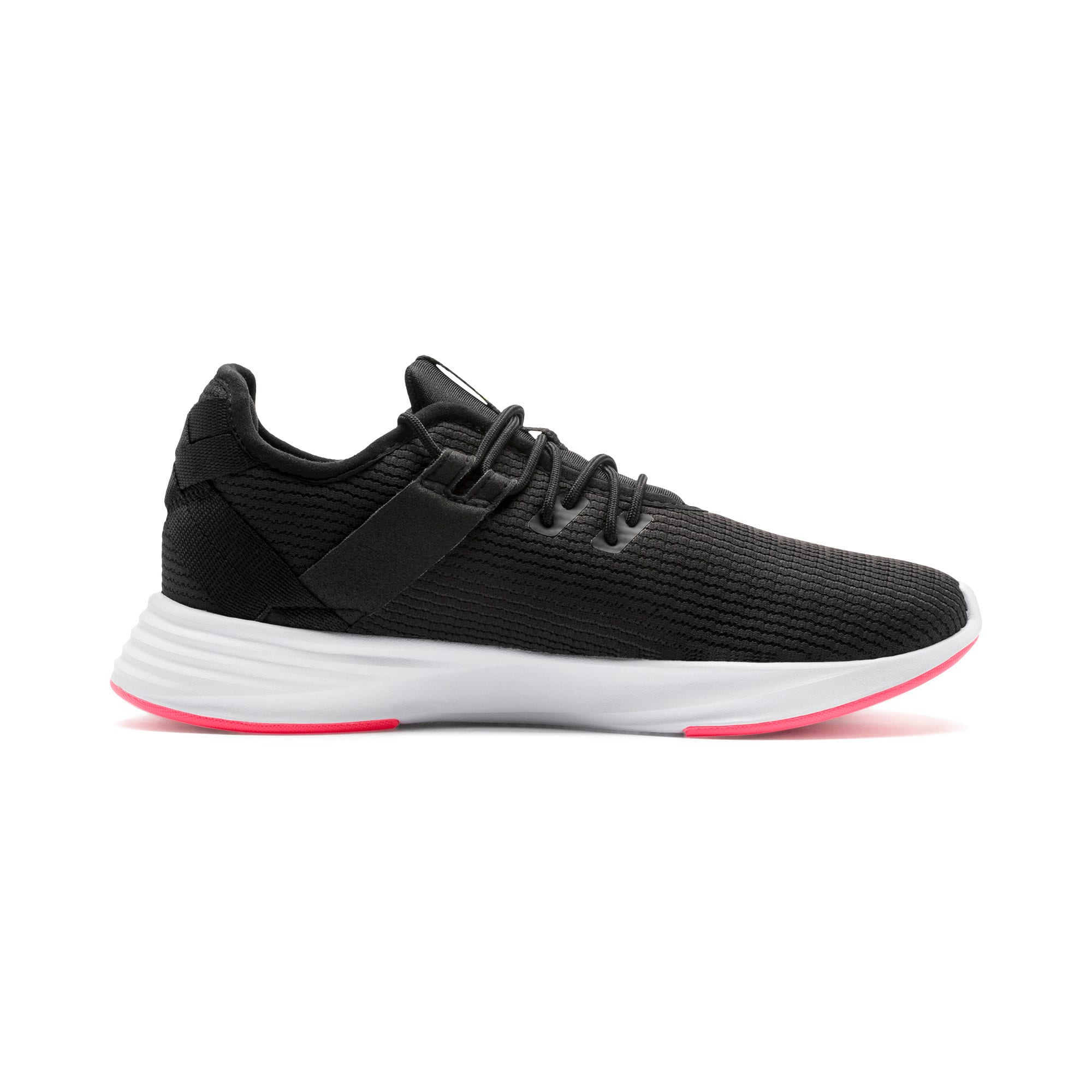 Thumbnail 7 of Radiate XT Women's Training Sneakers, Puma Black-Pink Alert, medium-IND
