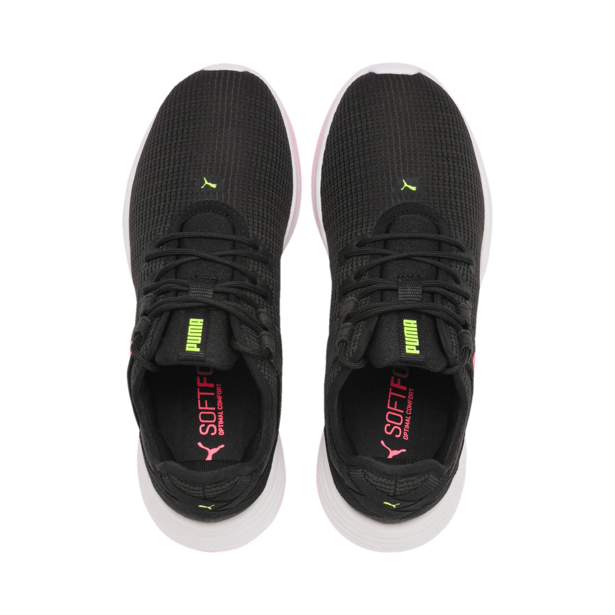 Thumbnail 8 of Radiate XT Women's Training Sneakers, Puma Black-Pink Alert, medium-IND