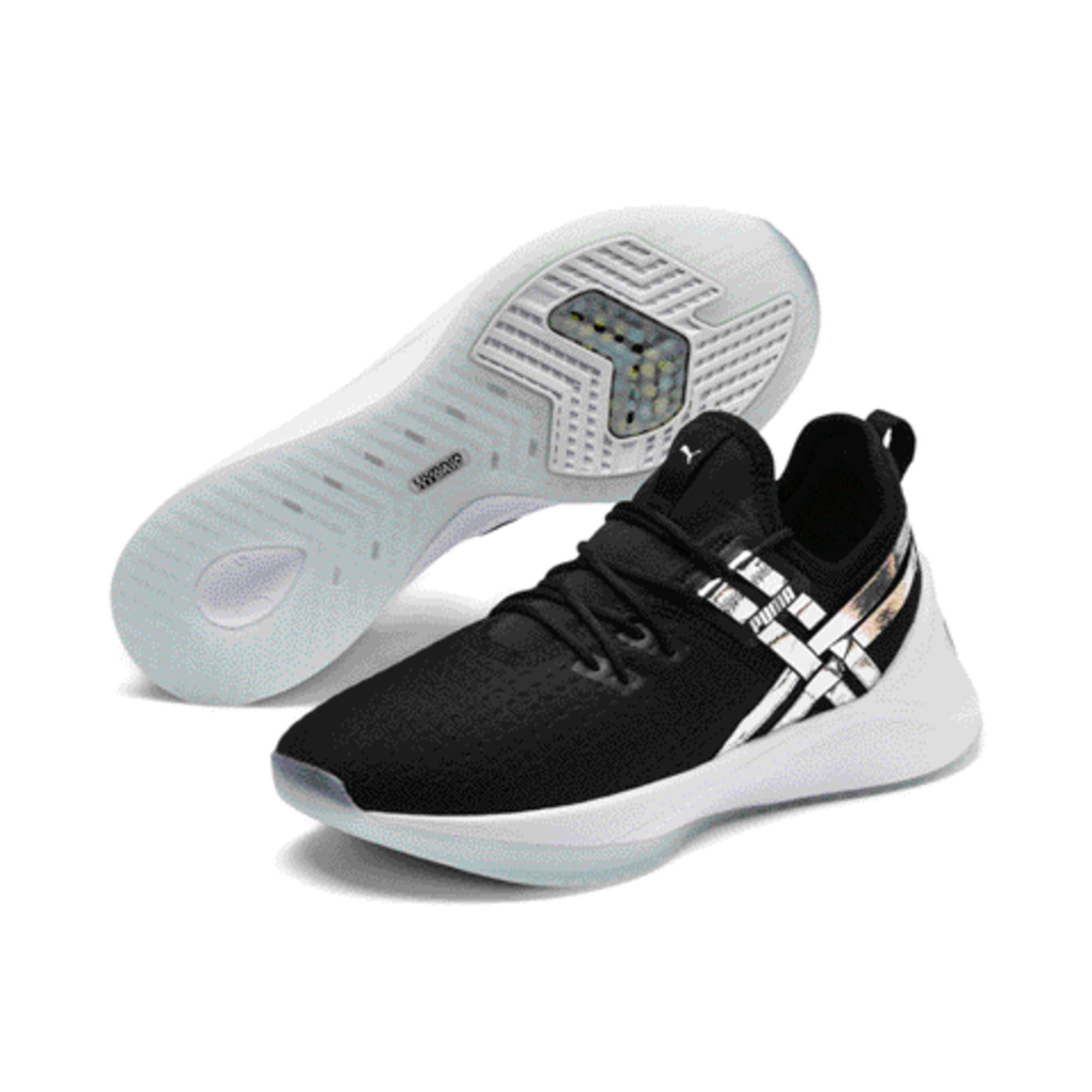 Thumbnail 2 of Jaab XT Trailblazer Women's Training Shoes, Puma Black-Fair Aqua, medium