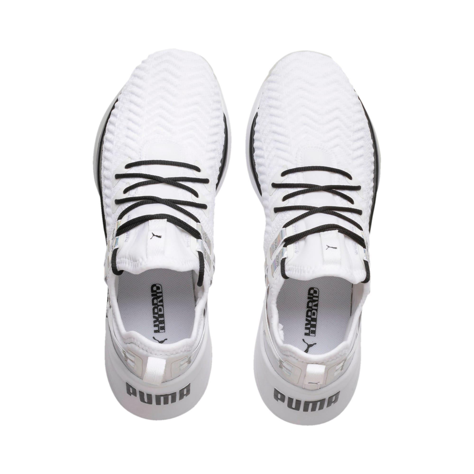 Thumbnail 7 of Jaab XT Iridescent Trailblazer Women's Training Shoes, Puma White-Puma Black, medium
