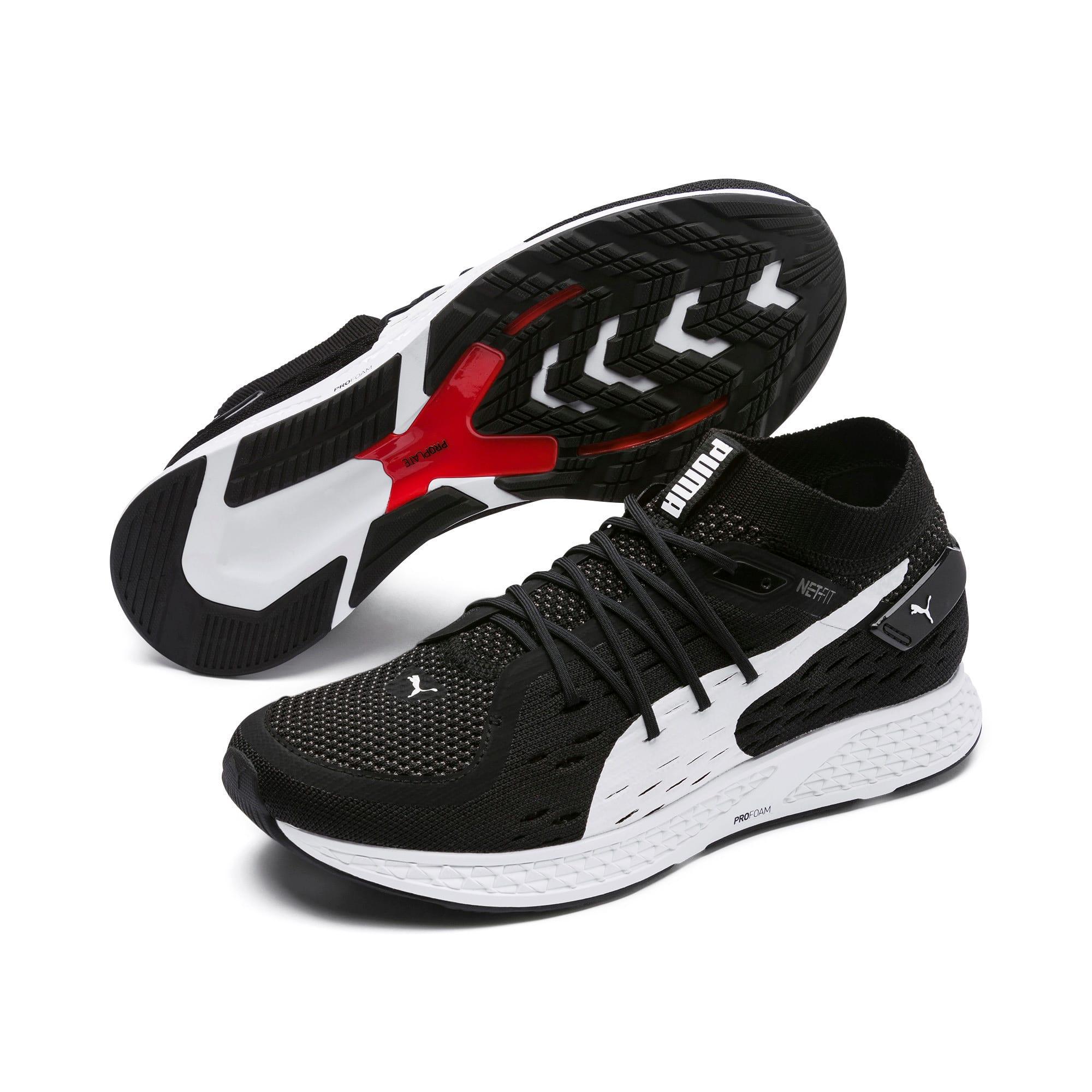 Thumbnail 3 of SPEED 500 Men's Running Shoes, Puma Black-Puma White, medium
