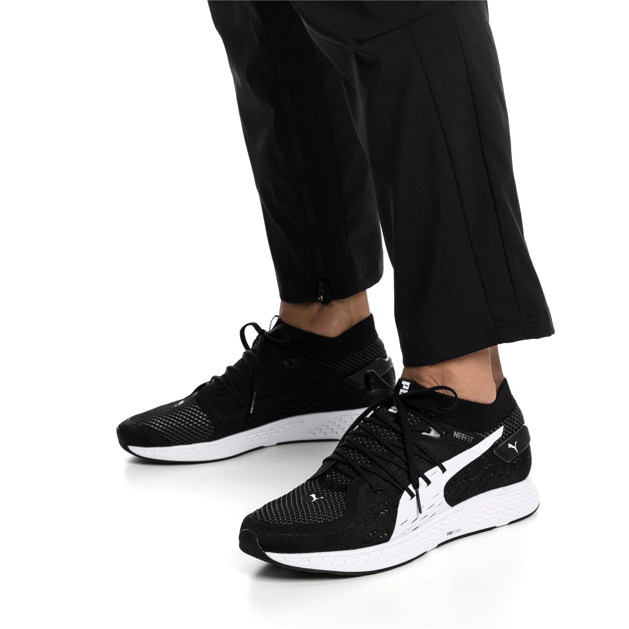 Thumbnail 2 of SPEED 500 Men's Running Shoes, Puma Black-Puma White, medium
