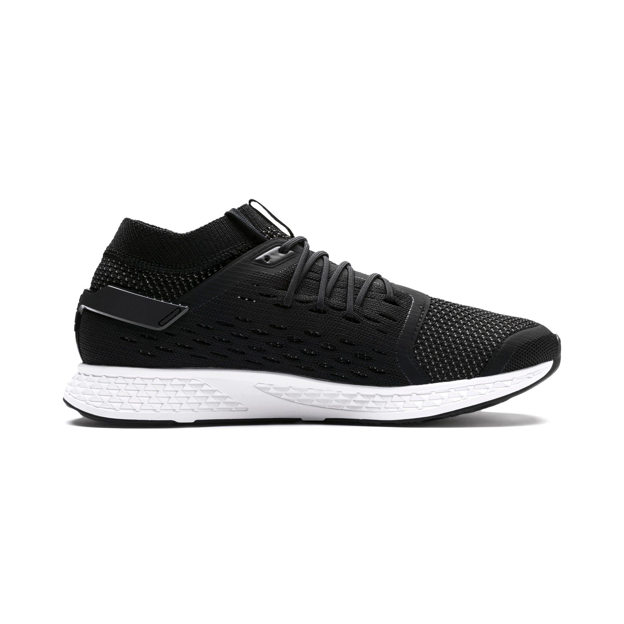 Thumbnail 6 of SPEED 500 Men's Running Shoes, Puma Black-Puma White, medium