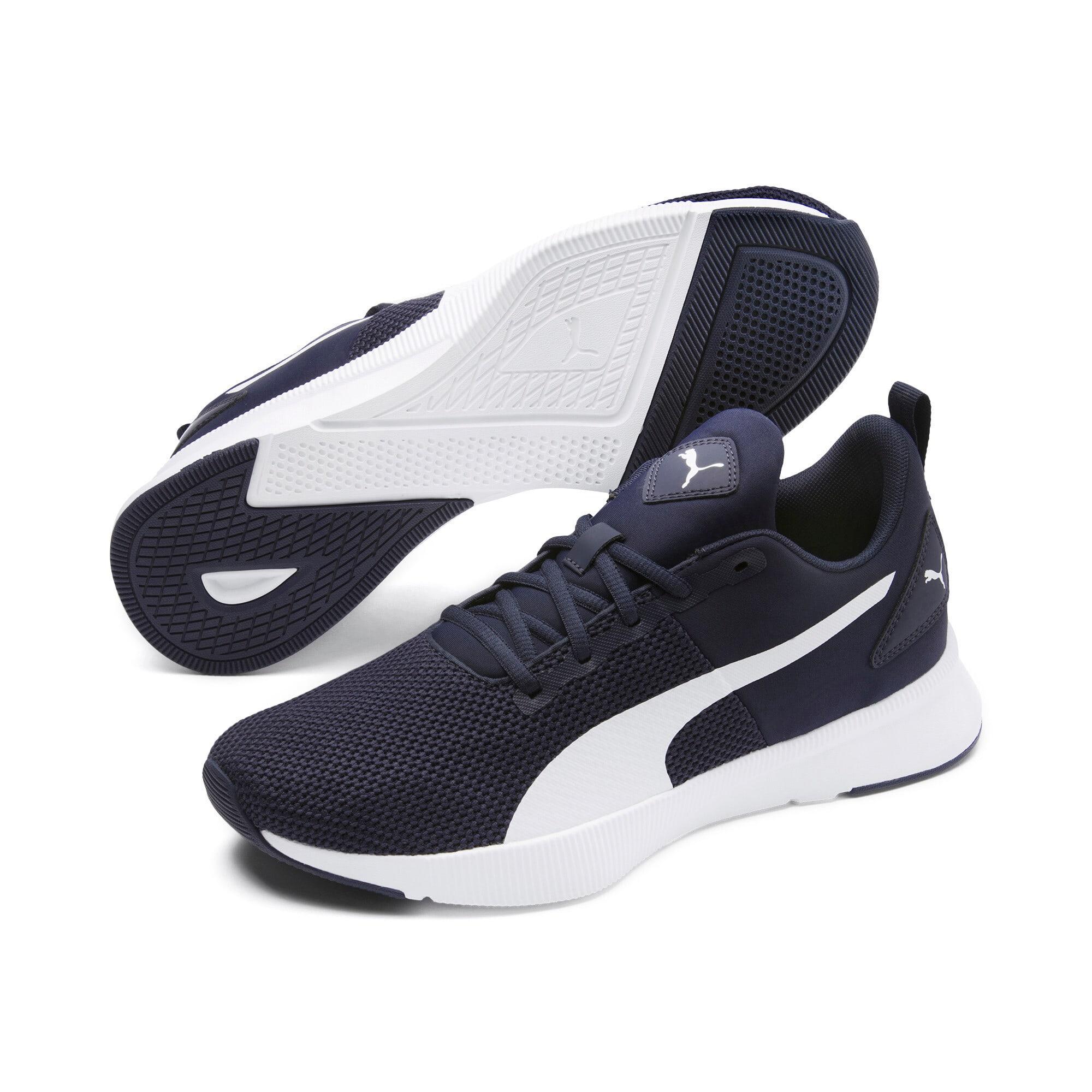 Thumbnail 2 of Flyer Runner Running Shoes, Peacoat-Puma White, medium