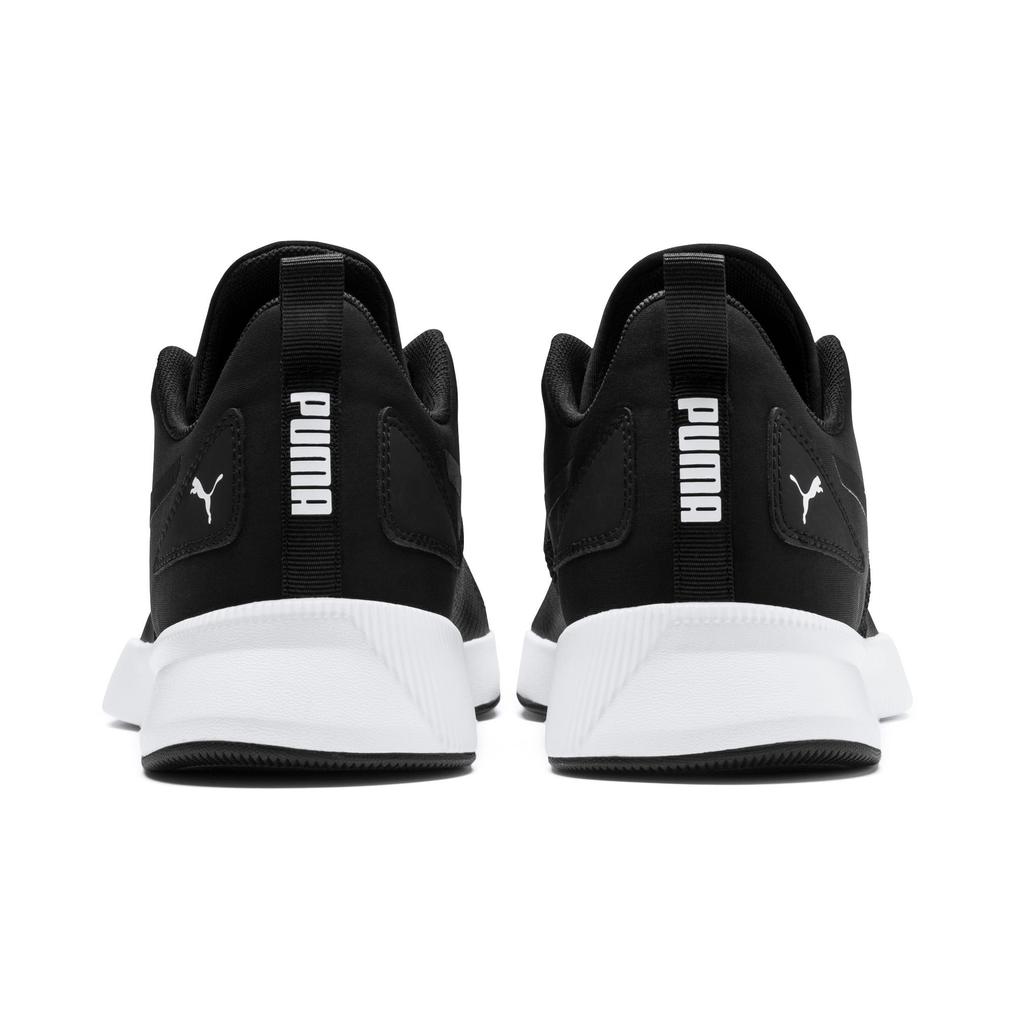 Thumbnail 3 of Flyer Running Shoes, Black-Black-White, medium-IND