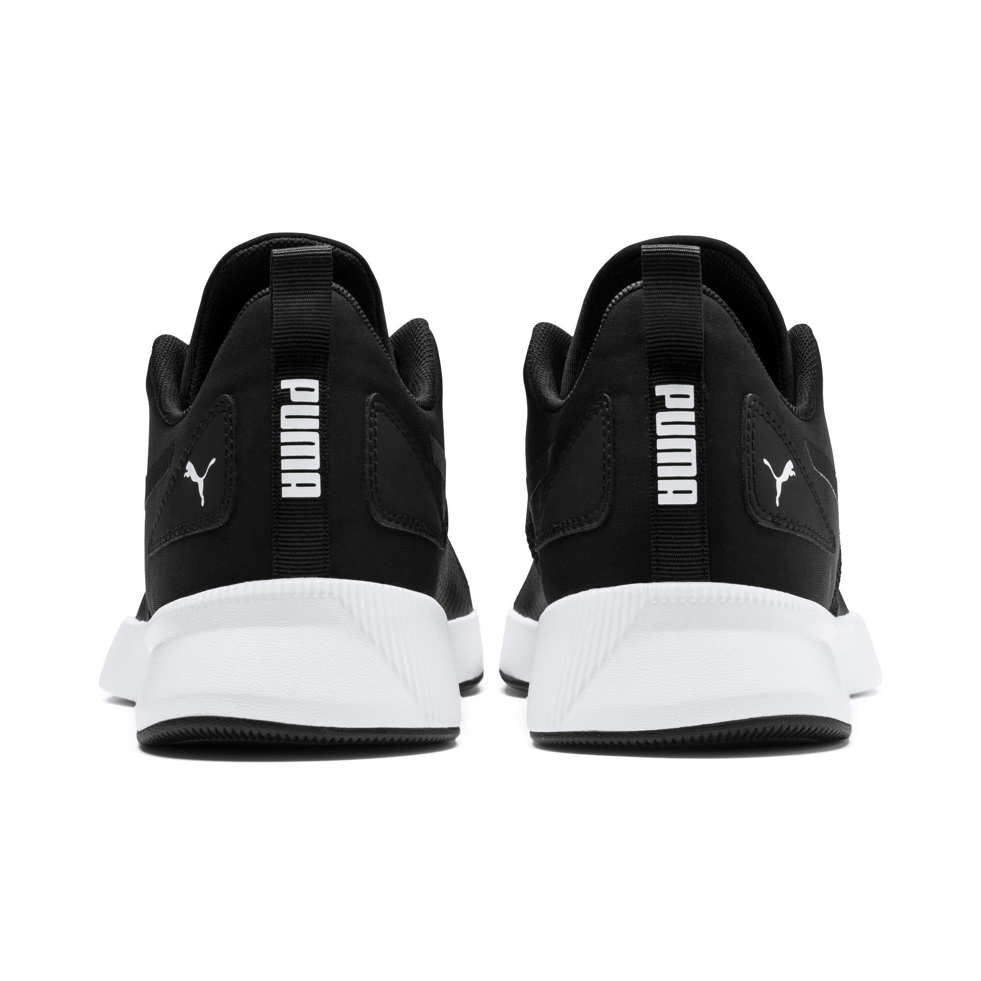 Thumbnail 3 of Flyer Runner Running Shoes, Black-Black-White, medium