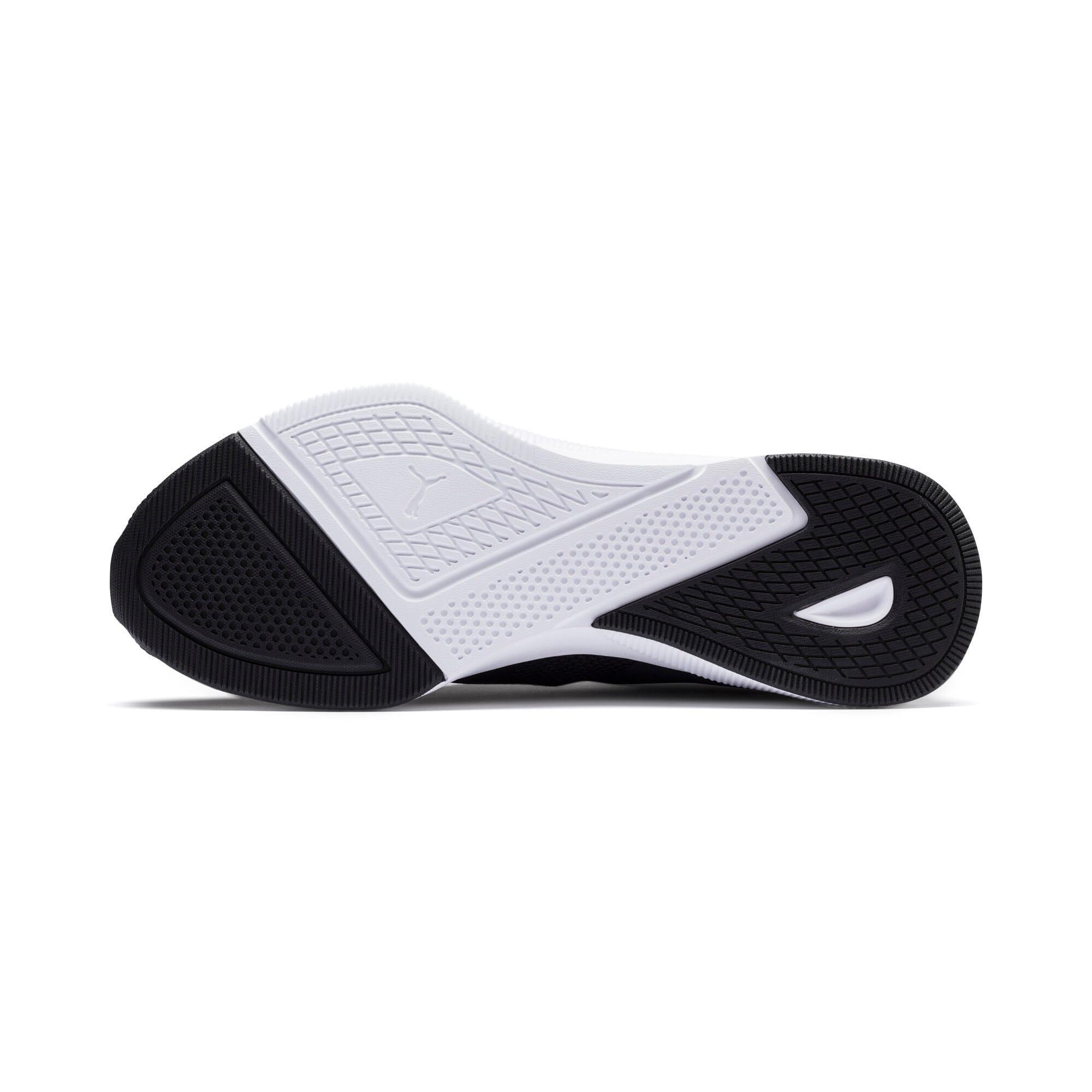Thumbnail 4 of Flyer Running Shoes, Black-Black-White, medium-IND