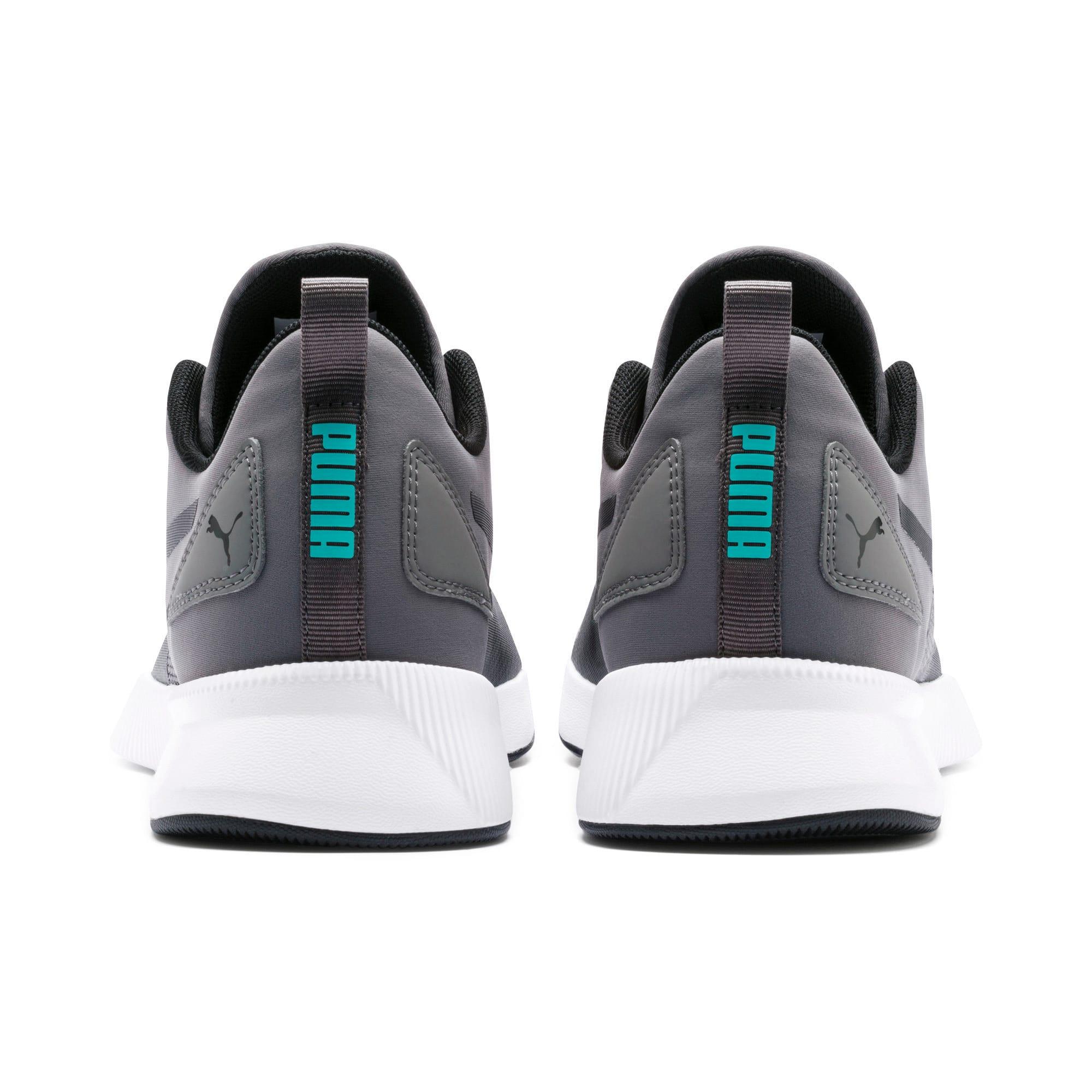 Thumbnail 5 of Flyer Runner Running Shoes, Charcoal-Black-Turquoise, medium