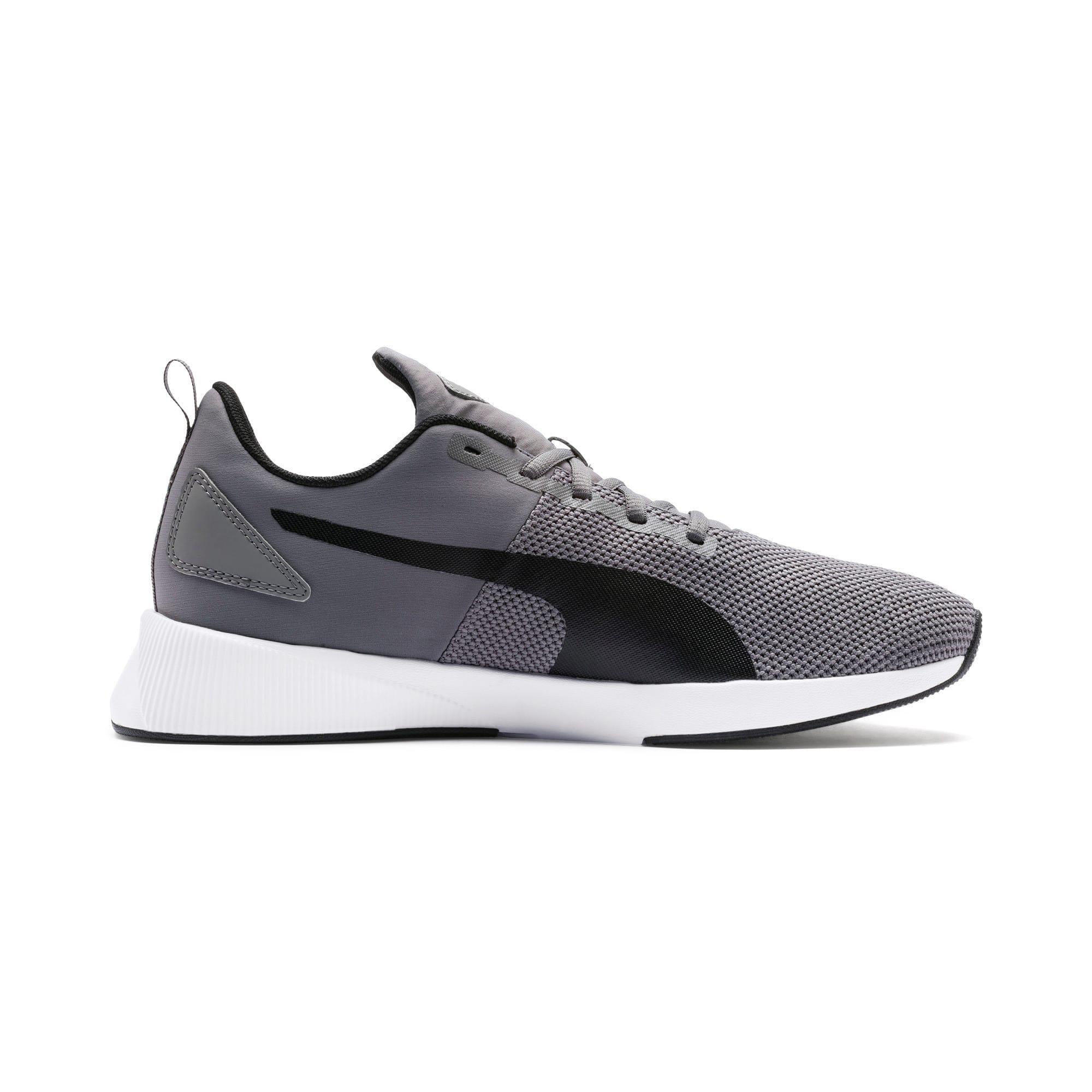 Thumbnail 6 of Flyer Runner Running Shoes, Charcoal-Black-Turquoise, medium
